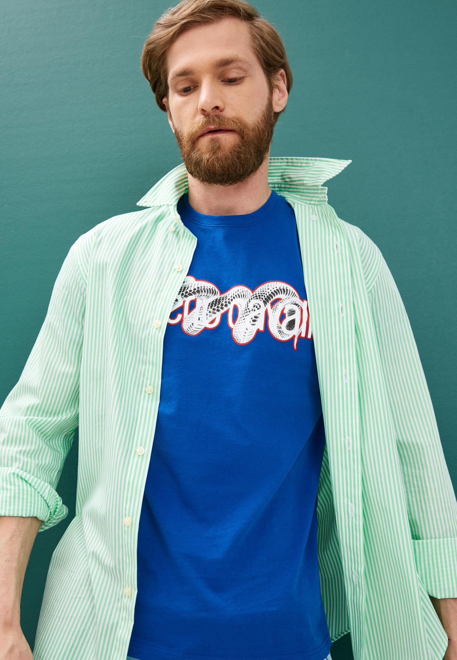 Мужская футболка Roberto Cavalli (Роберто Кавалли) GST655A027: изображение 2