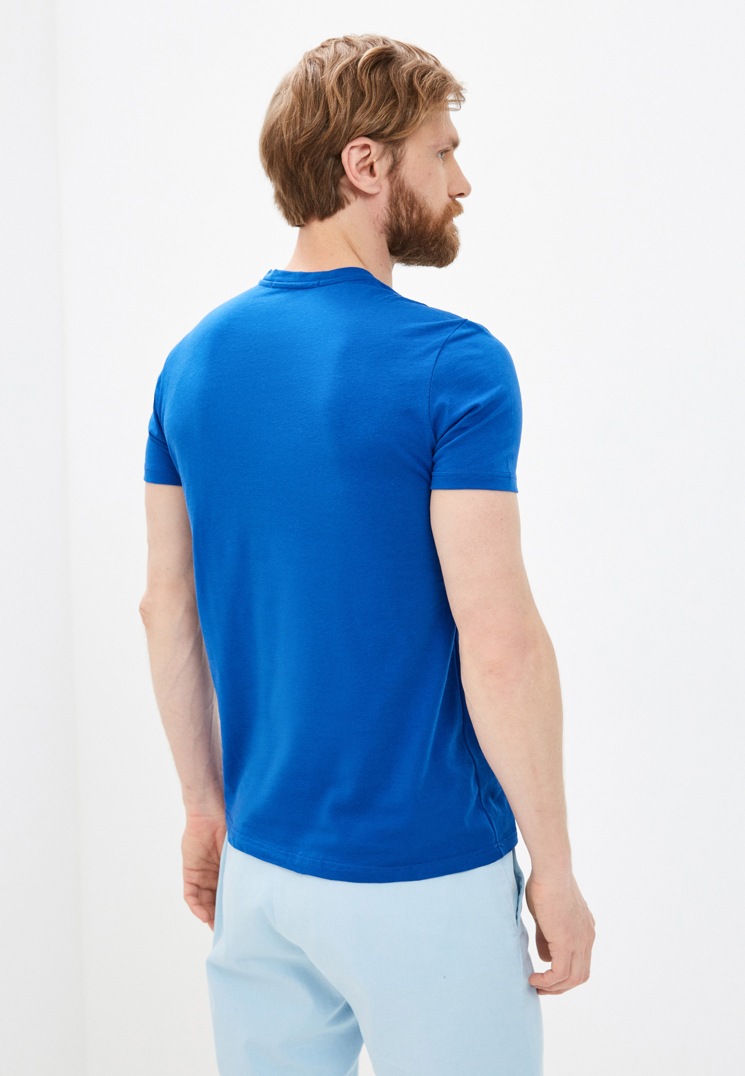 Мужская футболка Roberto Cavalli (Роберто Кавалли) GST655A027: изображение 4