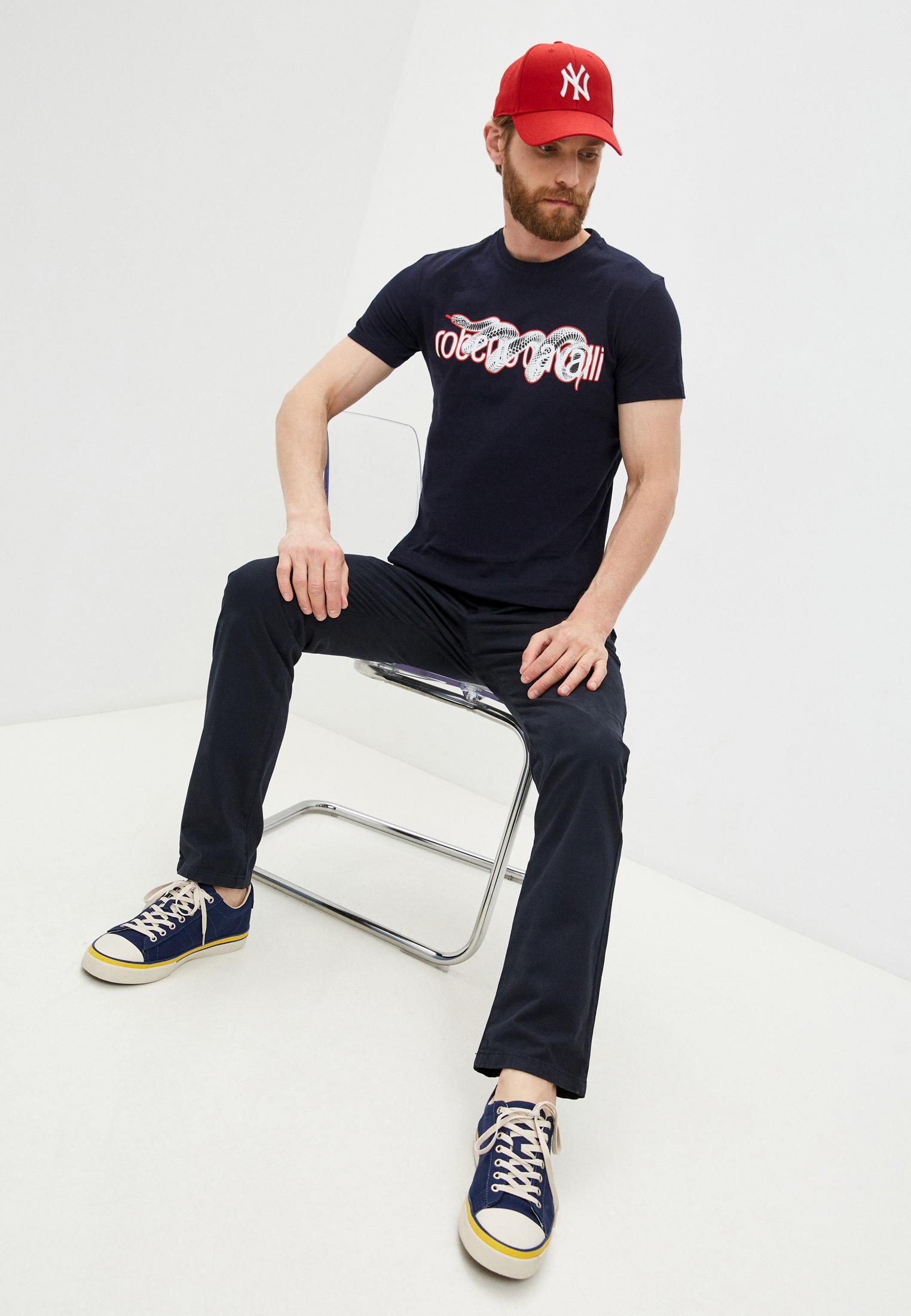 Мужская футболка Roberto Cavalli (Роберто Кавалли) GST655A027: изображение 8