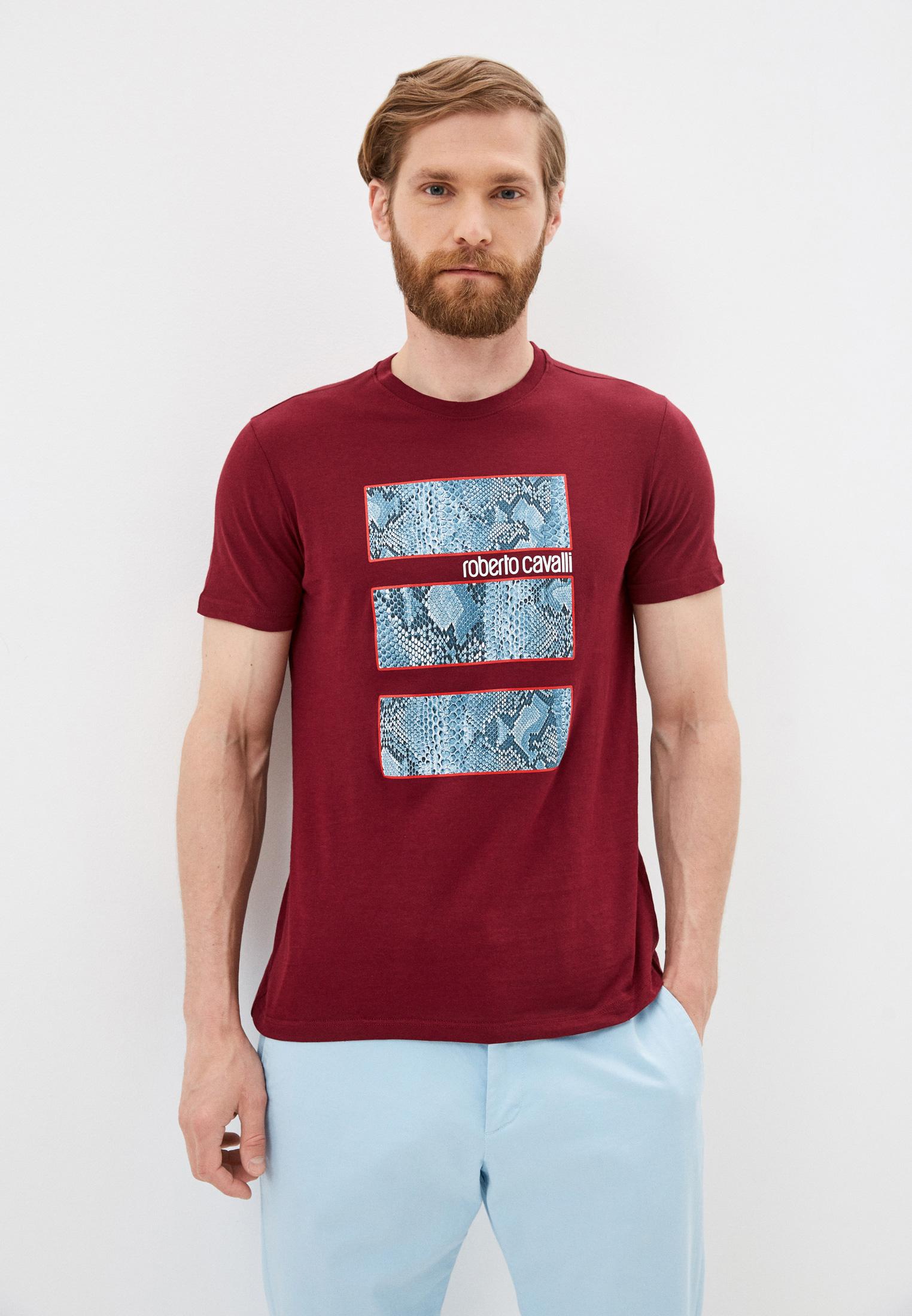 Мужская футболка Roberto Cavalli (Роберто Кавалли) GST690A027