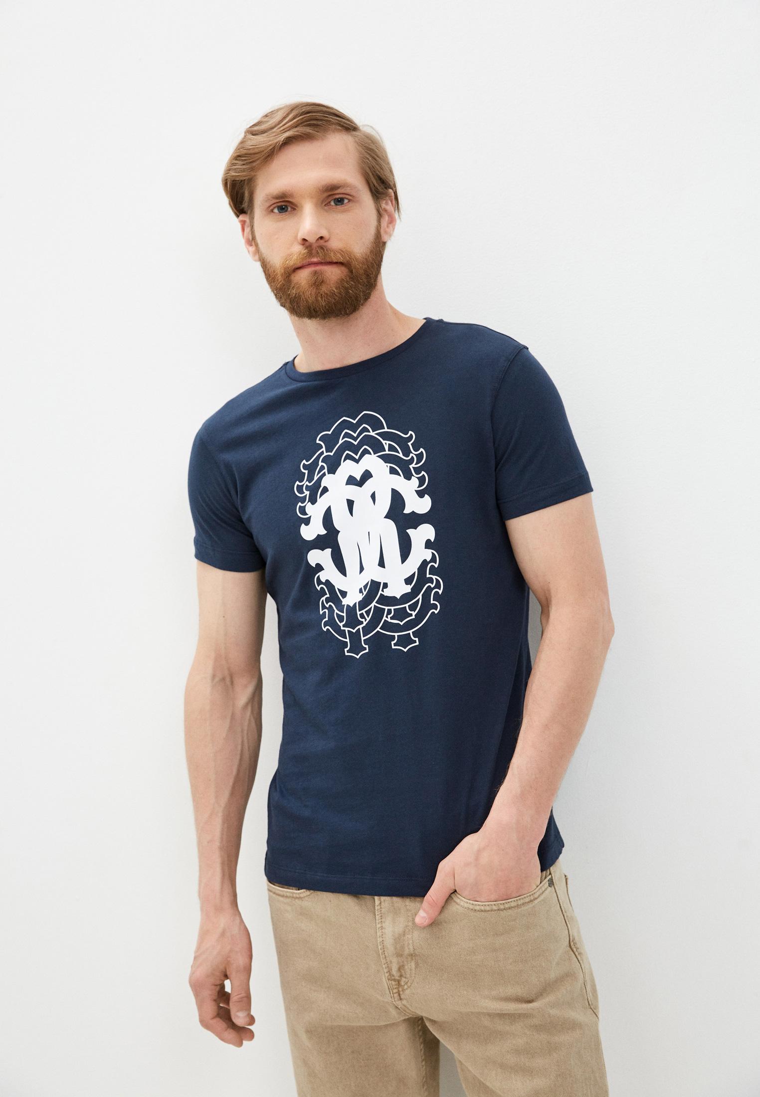 Мужская футболка Roberto Cavalli (Роберто Кавалли) HST61EA270