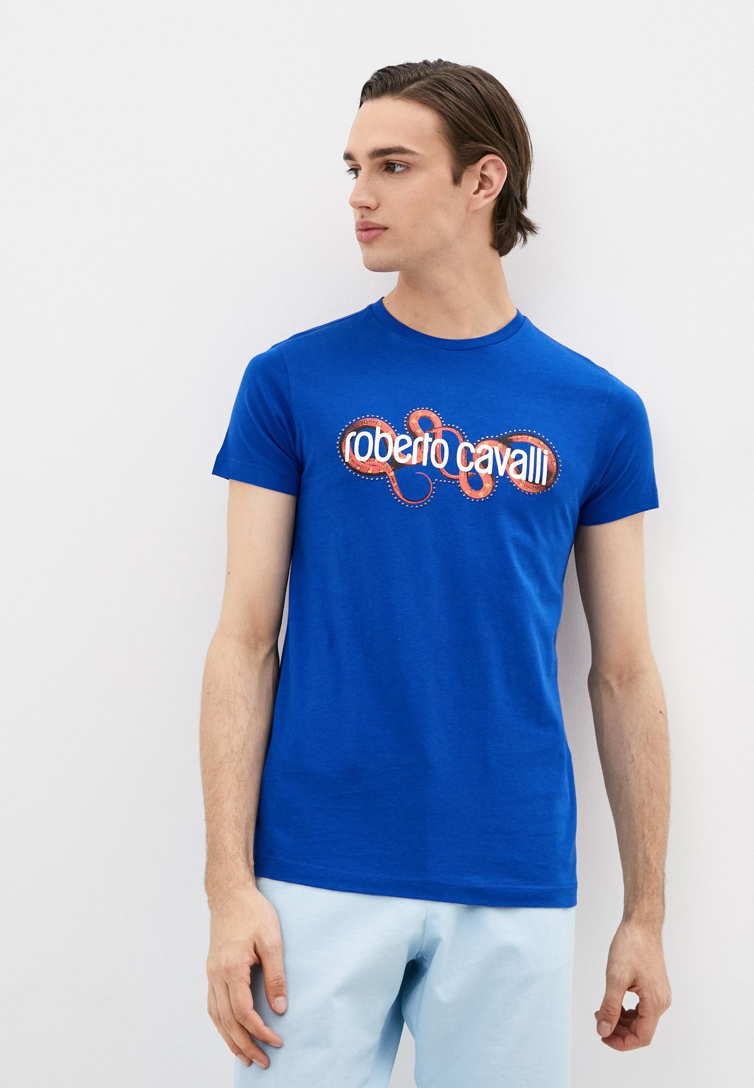 Мужская футболка Roberto Cavalli (Роберто Кавалли) HST62DA270