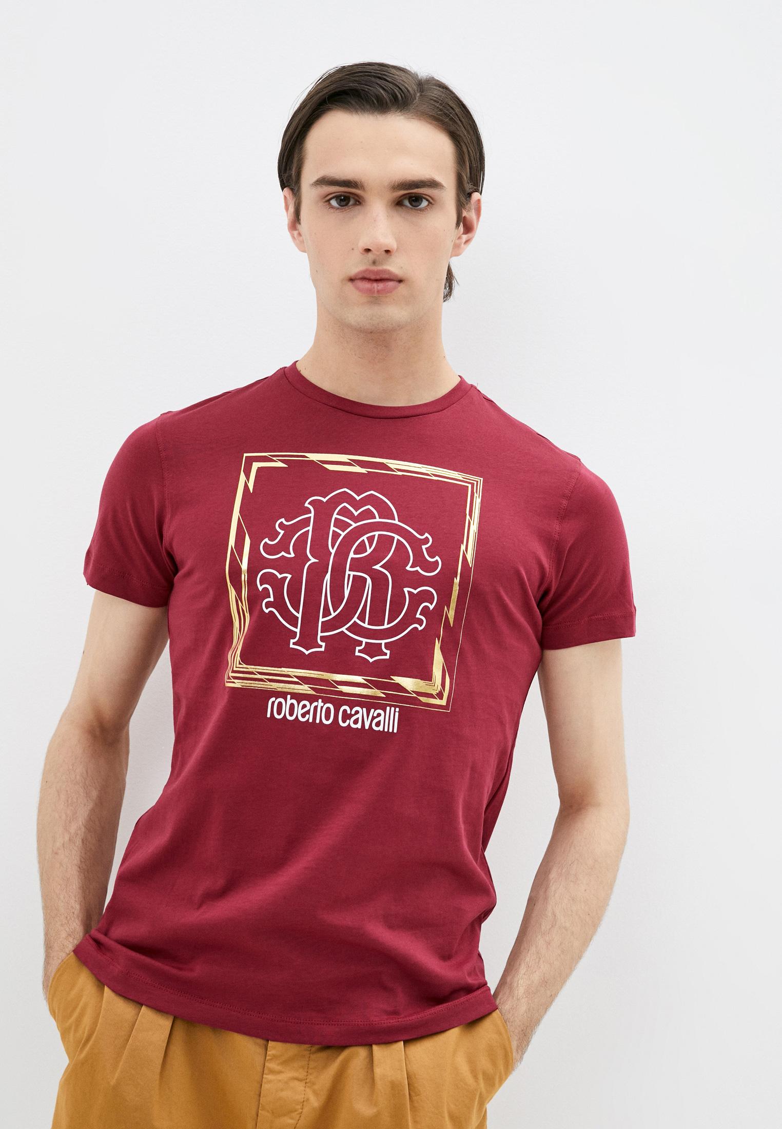 Мужская футболка Roberto Cavalli (Роберто Кавалли) HST63EA270