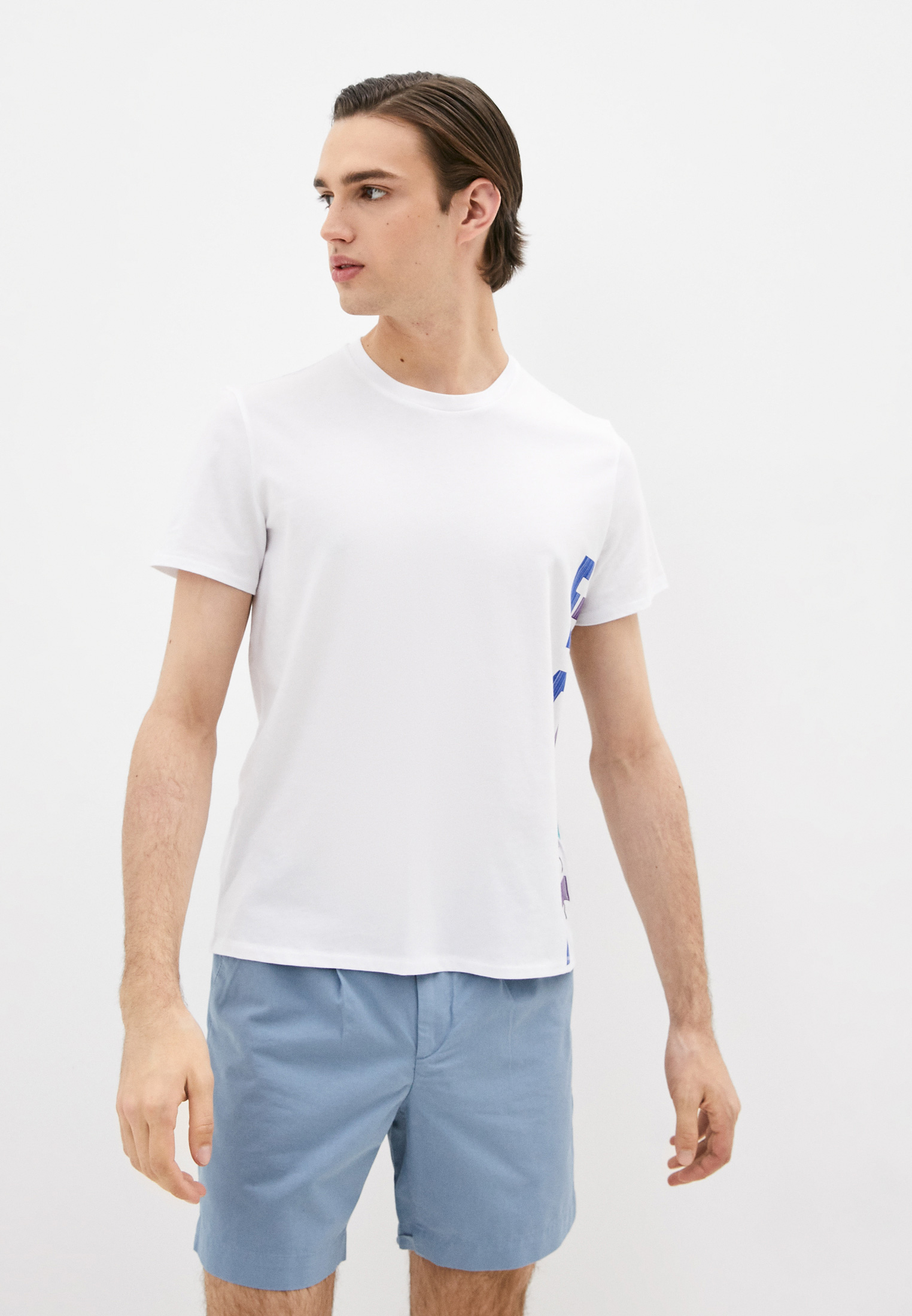 Мужская футболка Just Cavalli (Джаст Кавалли) S03GC0530N20663