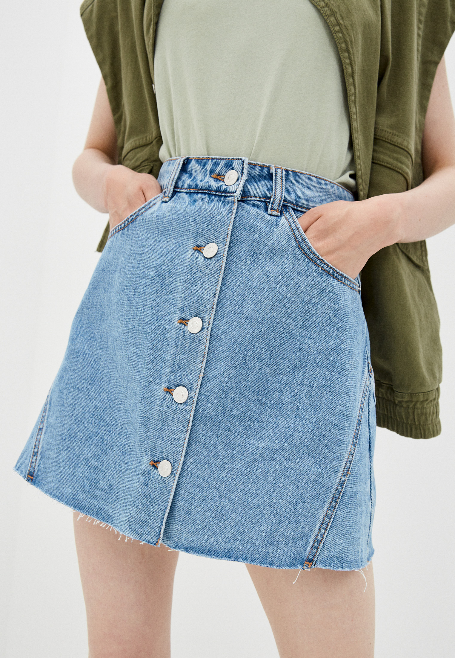 Джинсовая юбка Pimkie 690780