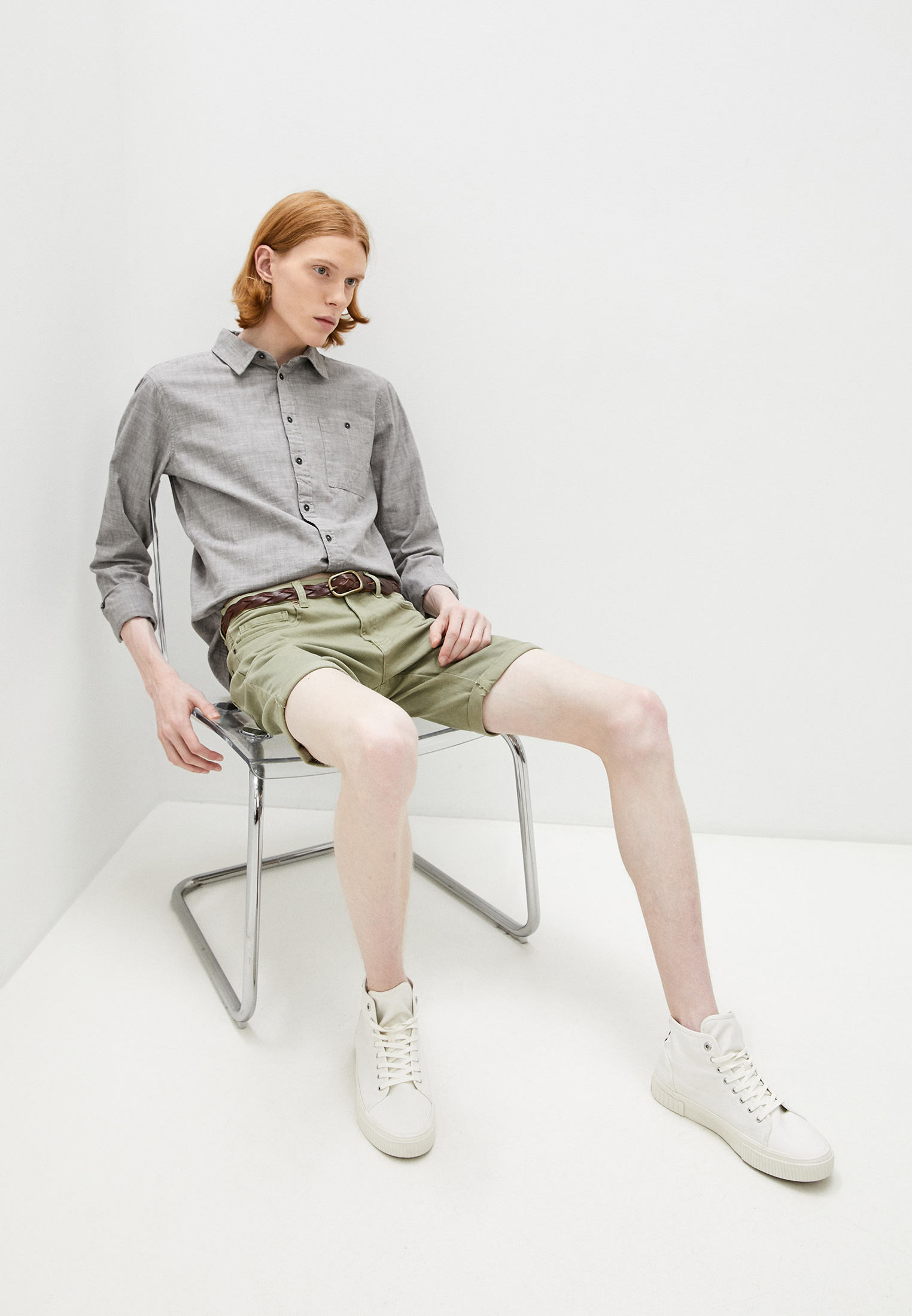Рубашка с длинным рукавом Blend (Бленд) 20712175: изображение 2
