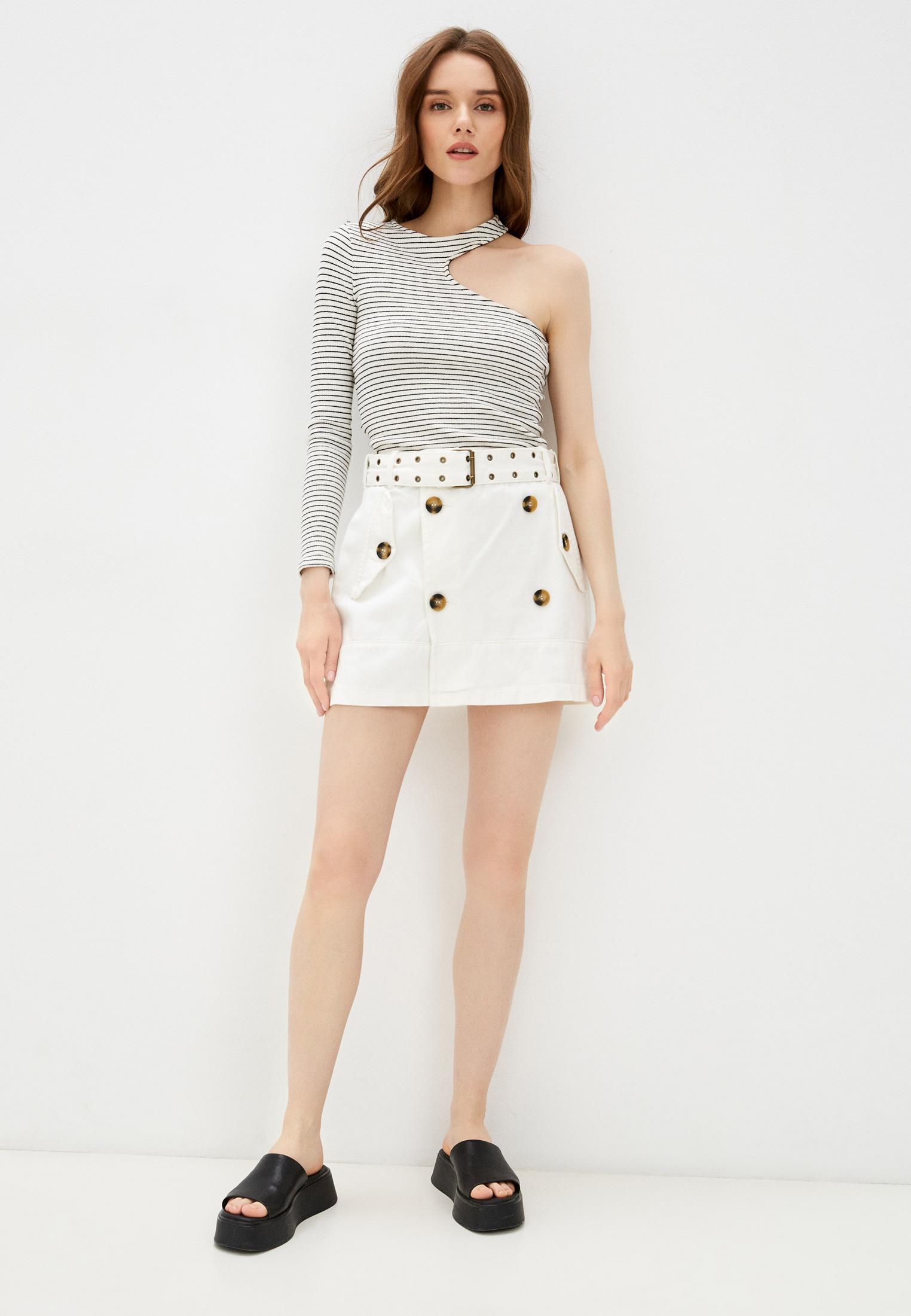 Джинсовая юбка adL 12739786000: изображение 2