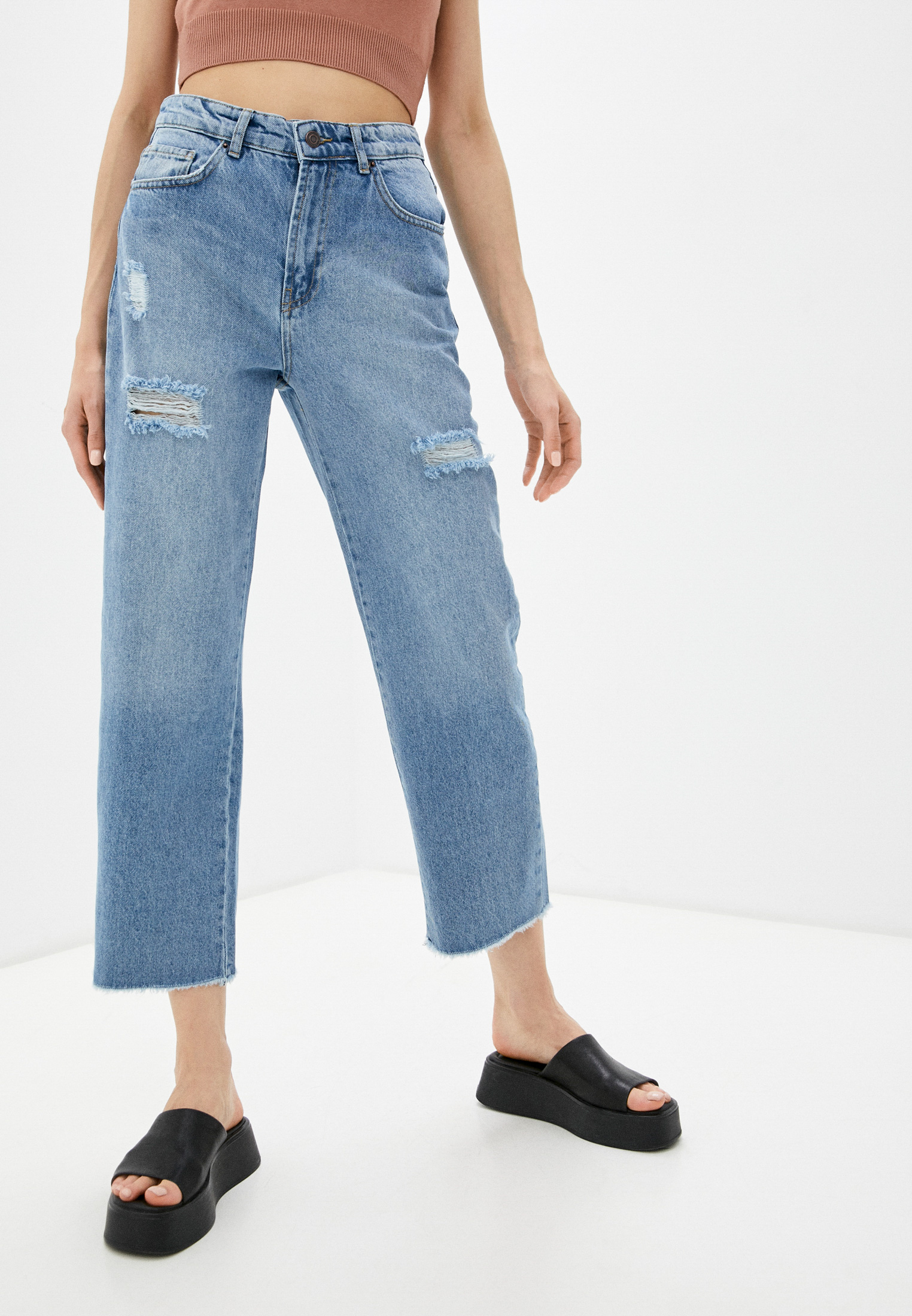 Прямые джинсы adL Джинсы adL