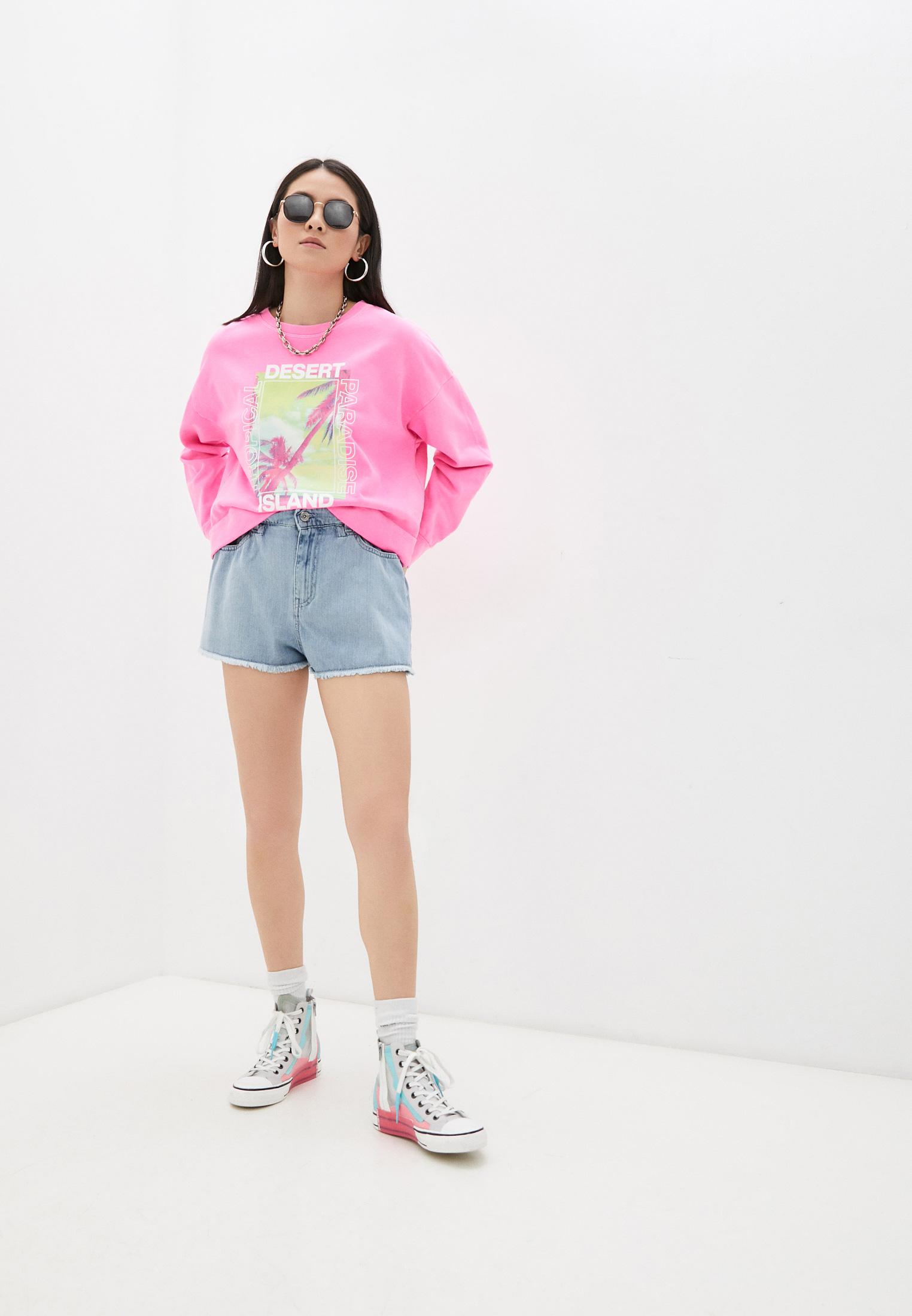 Женские джинсовые шорты Twinset Milano 211MT2332