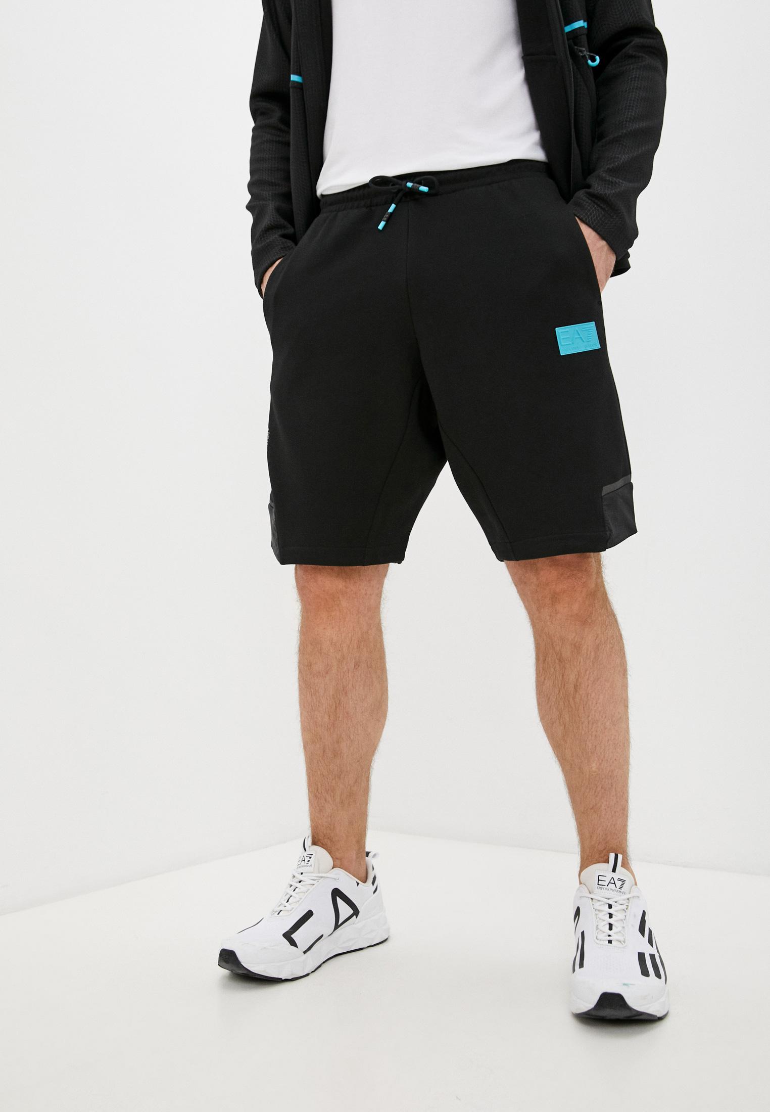 Мужские спортивные шорты EA7 3KPS72 PJANZ