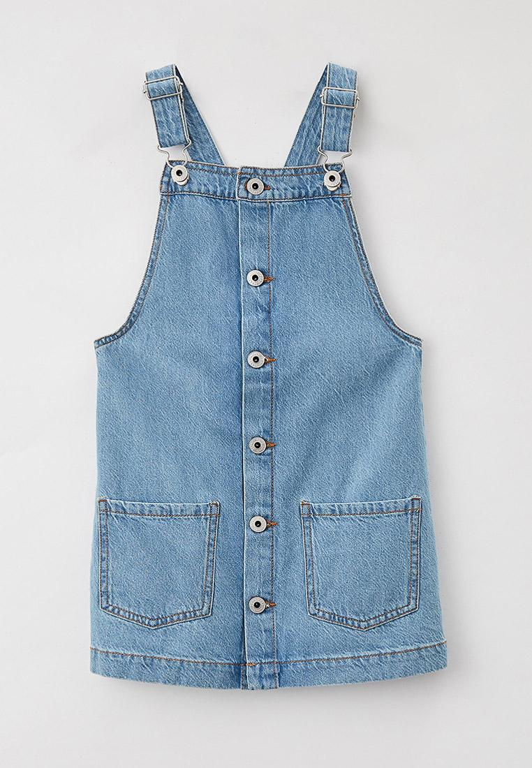 Повседневное платье Pepe Jeans (Пепе Джинс) Платье джинсовое Pepe Jeans