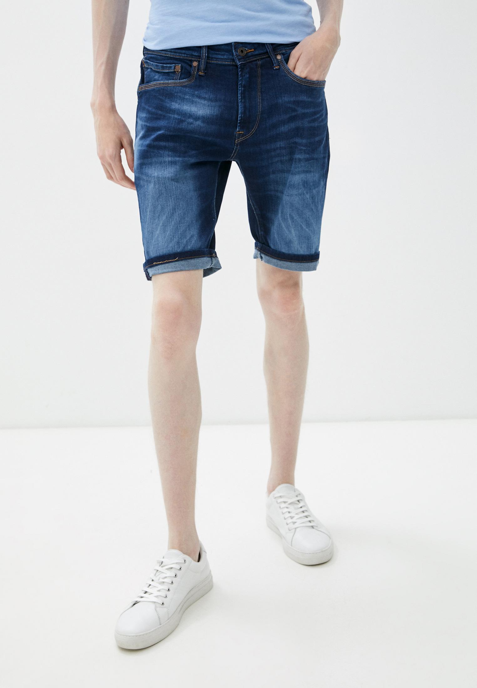 Мужские джинсовые шорты Pepe Jeans (Пепе Джинс) Шорты джинсовые Pepe Jeans