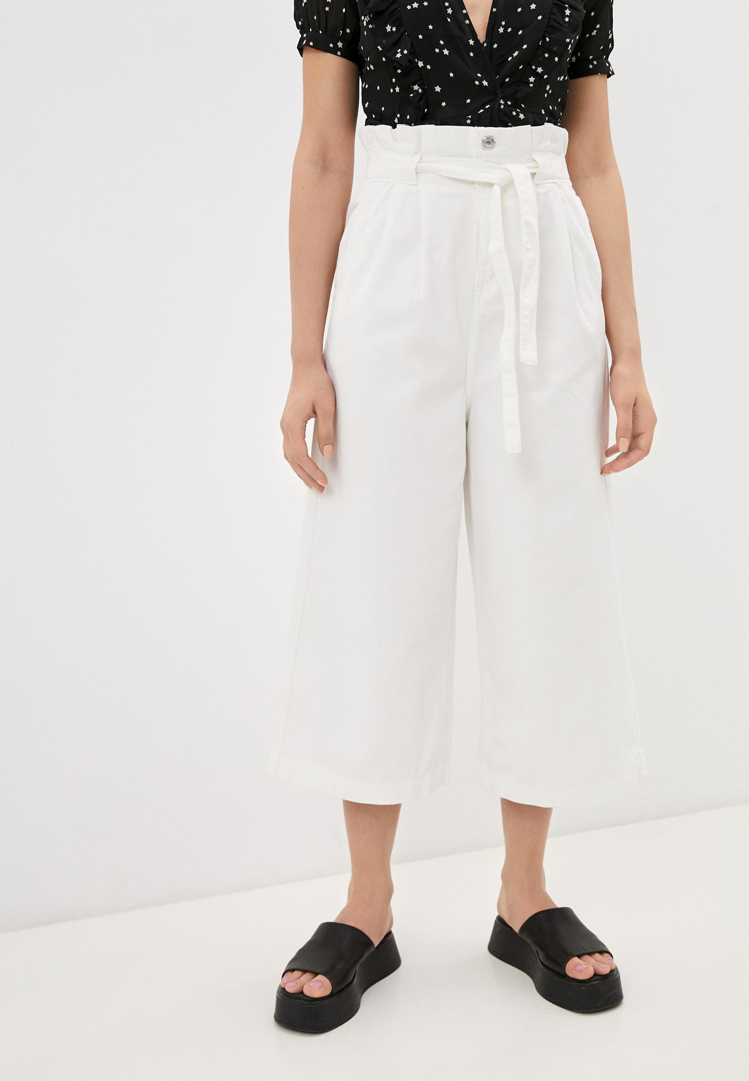 Широкие и расклешенные джинсы Miss Bon Bon F99-H779