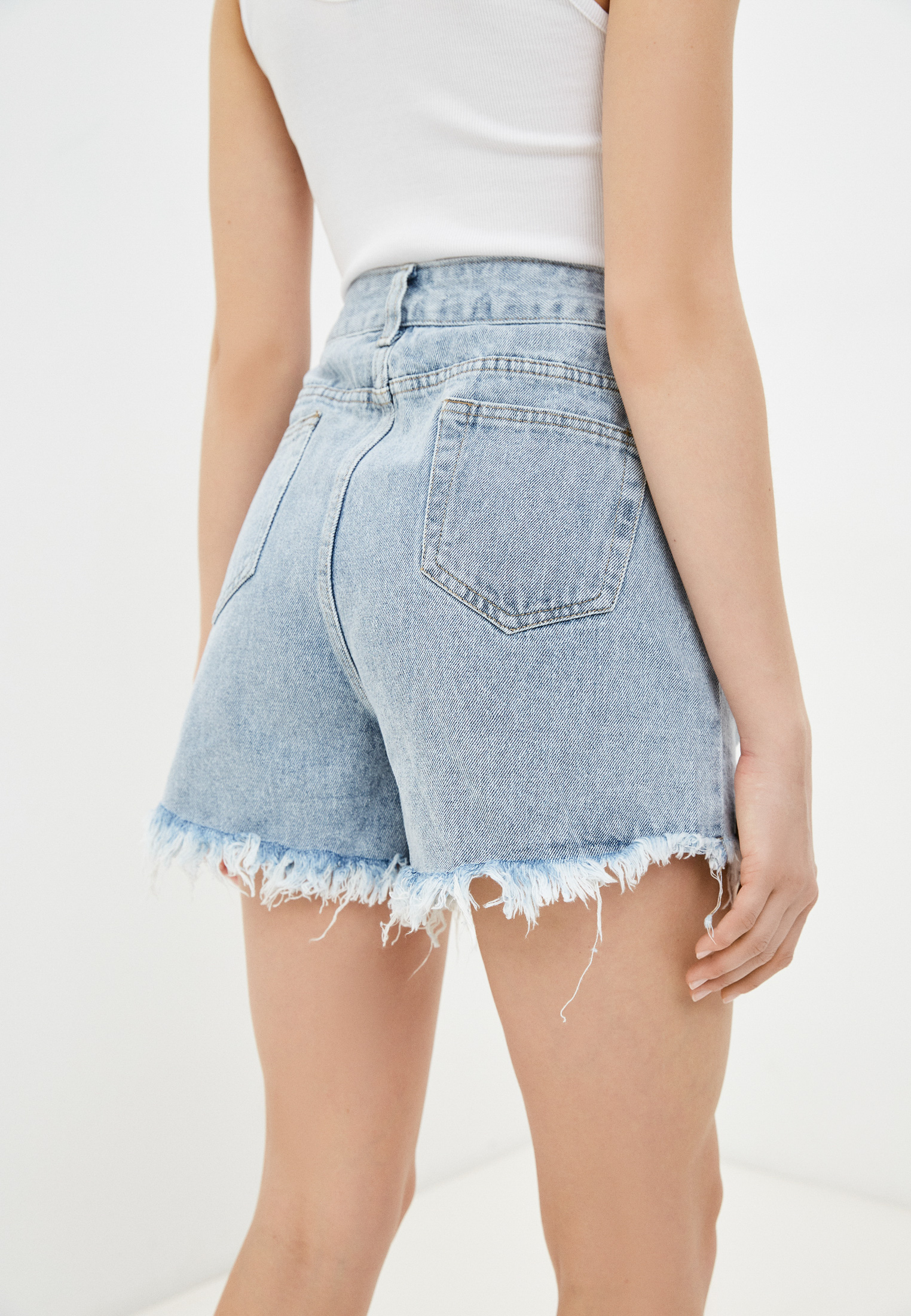 Женские джинсовые шорты Adrixx NR09-2220: изображение 3