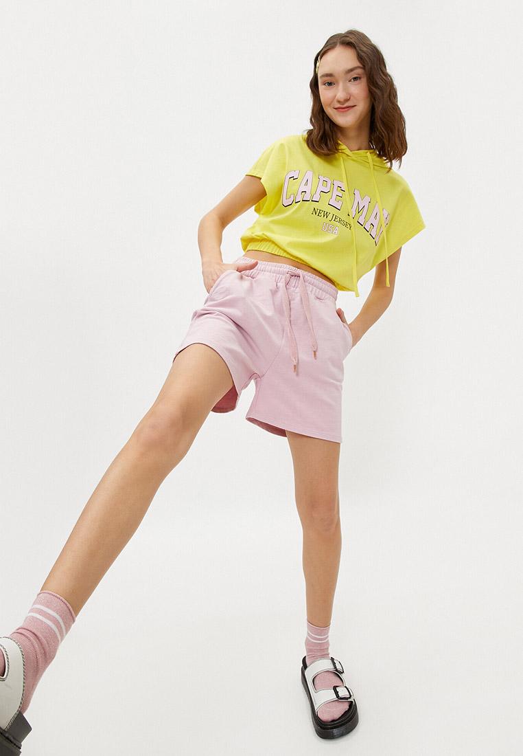 Женские повседневные шорты Koton 1YAL28079IK: изображение 2