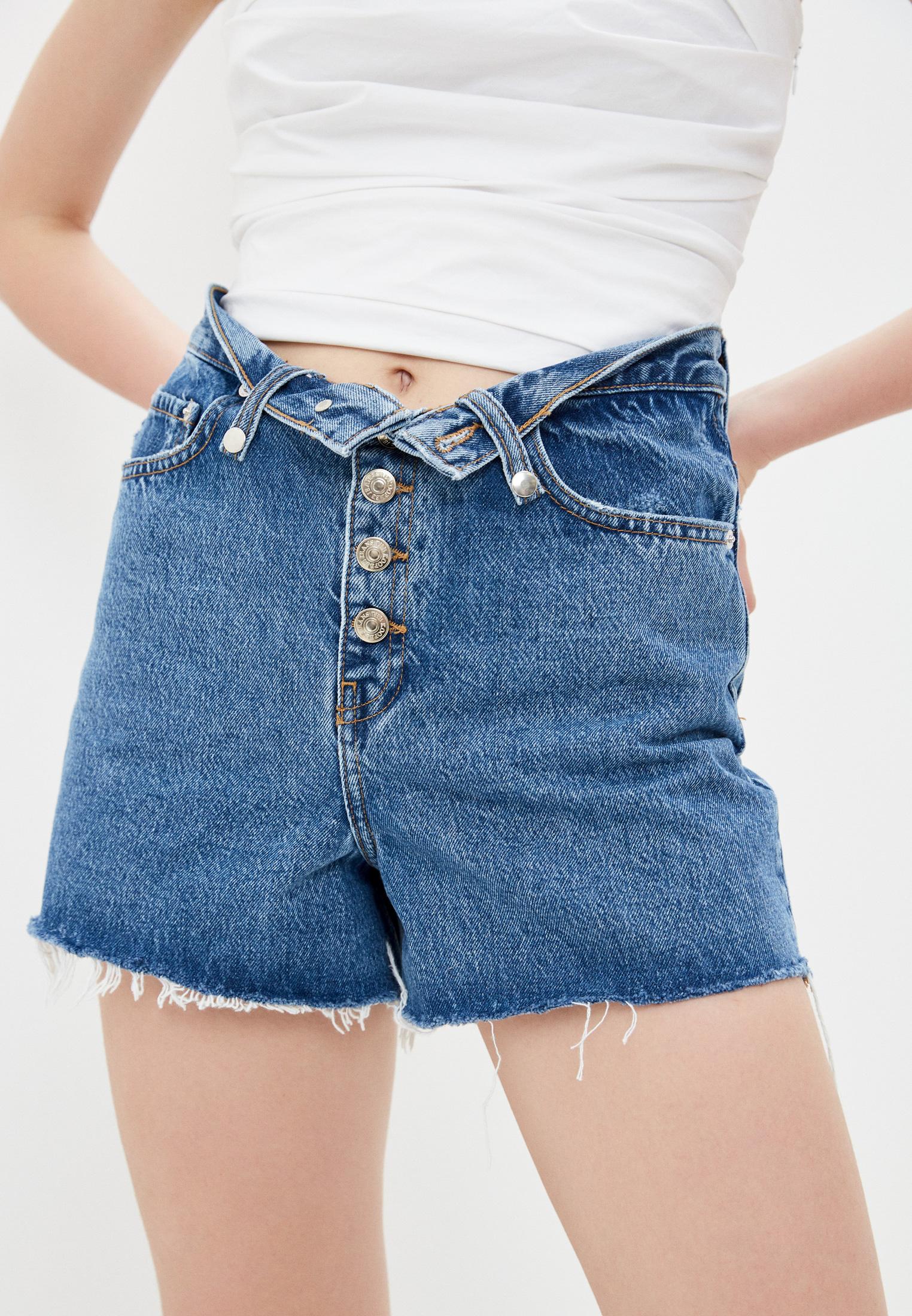 Женские джинсовые шорты The Kooples FSHO22012J