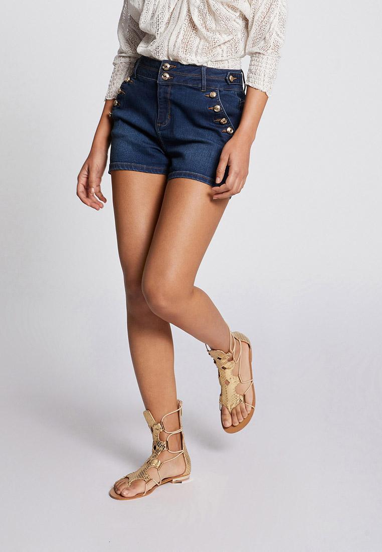 Женские джинсовые шорты Morgan Шорты джинсовые Morgan