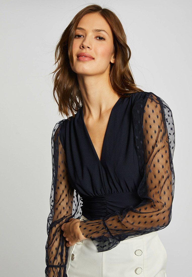 Блуза Morgan 211-TBLUE