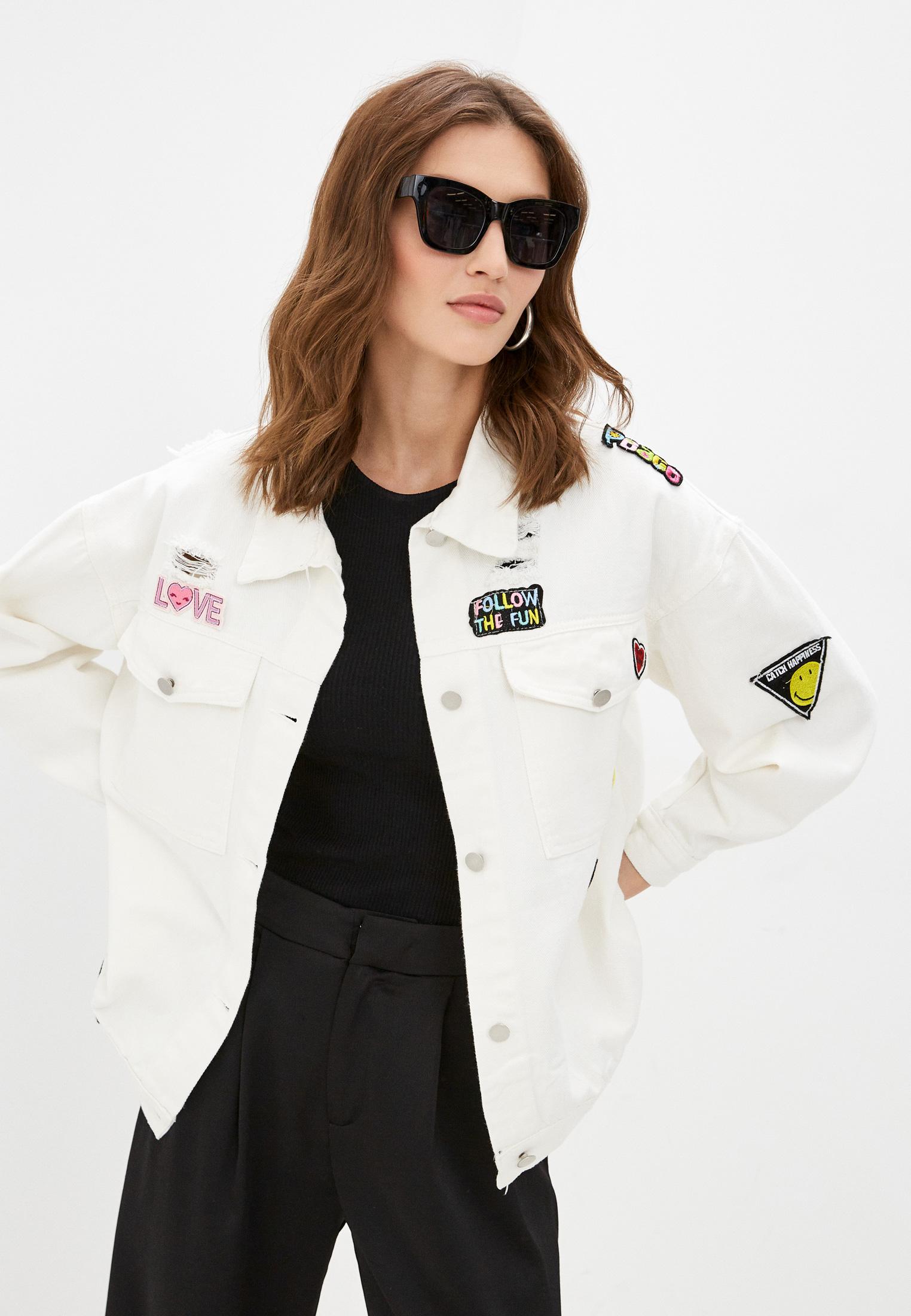 Джинсовая куртка Moki 8426