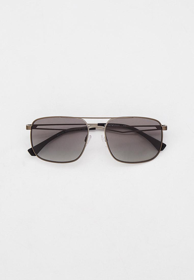 Мужские солнцезащитные очки Emporio Armani Очки солнцезащитные Emporio Armani