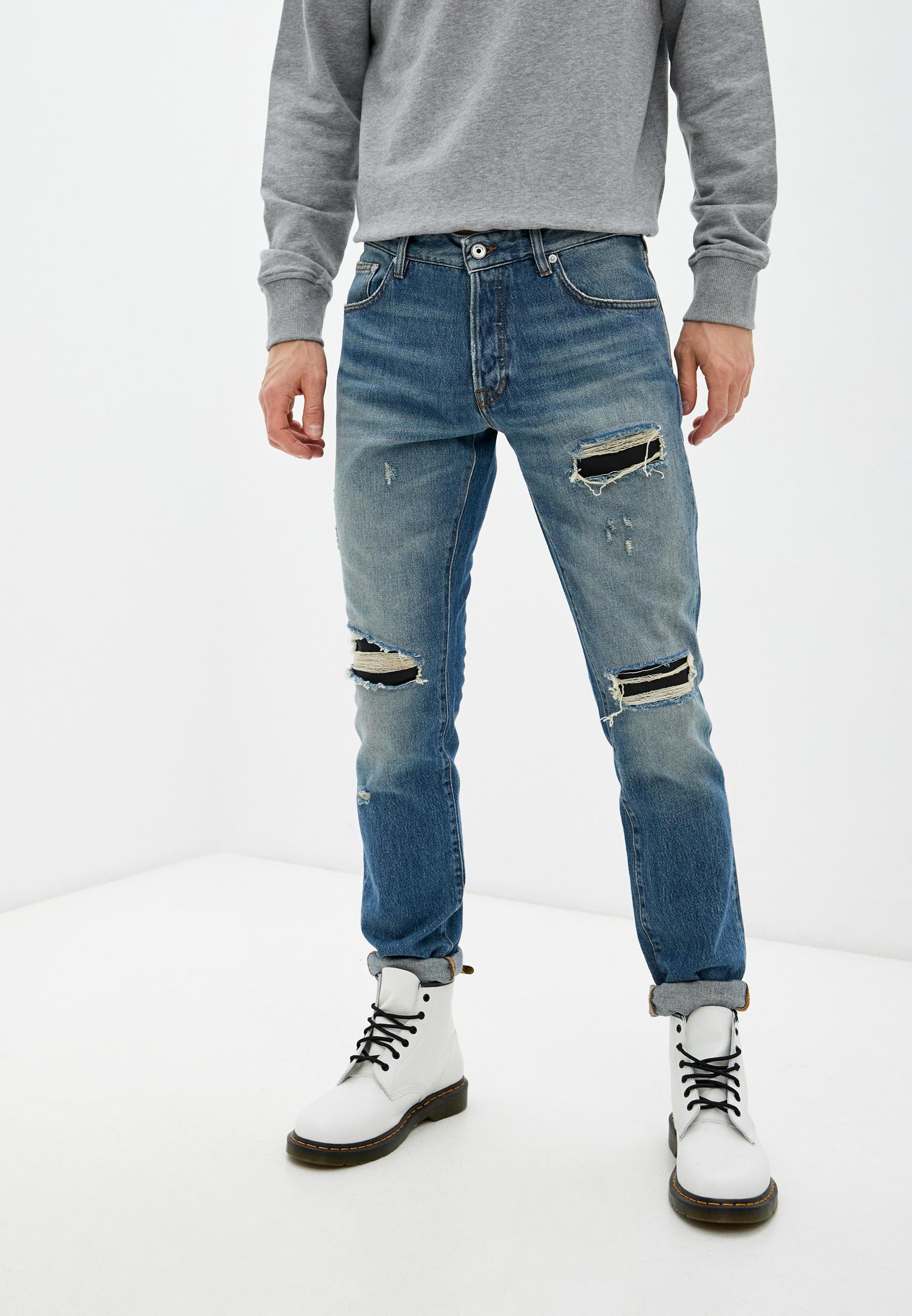Мужские зауженные джинсы Just Cavalli (Джаст Кавалли) S01LA0091 N31678