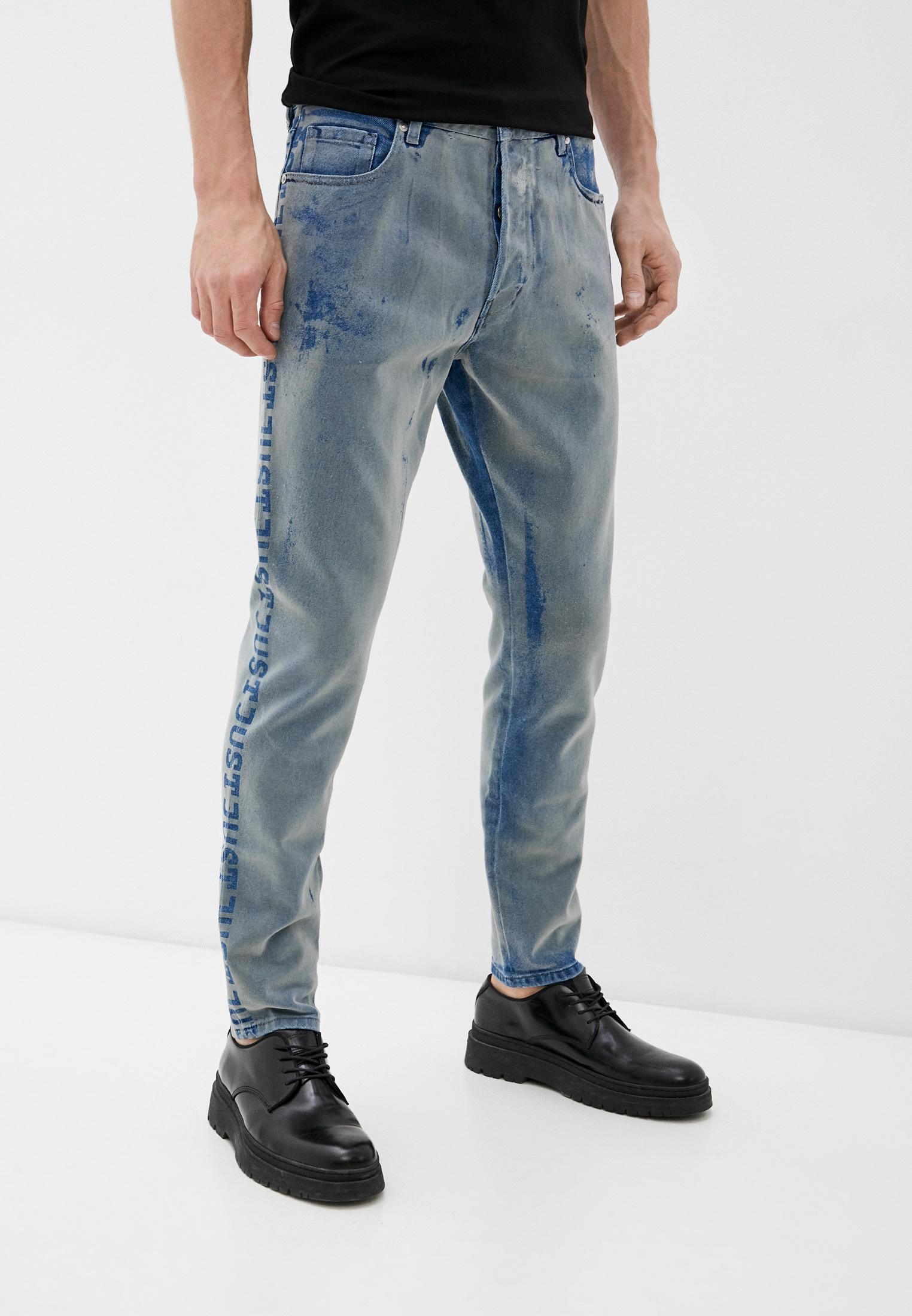 Мужские зауженные джинсы Just Cavalli (Джаст Кавалли) S01LA0092 N31642