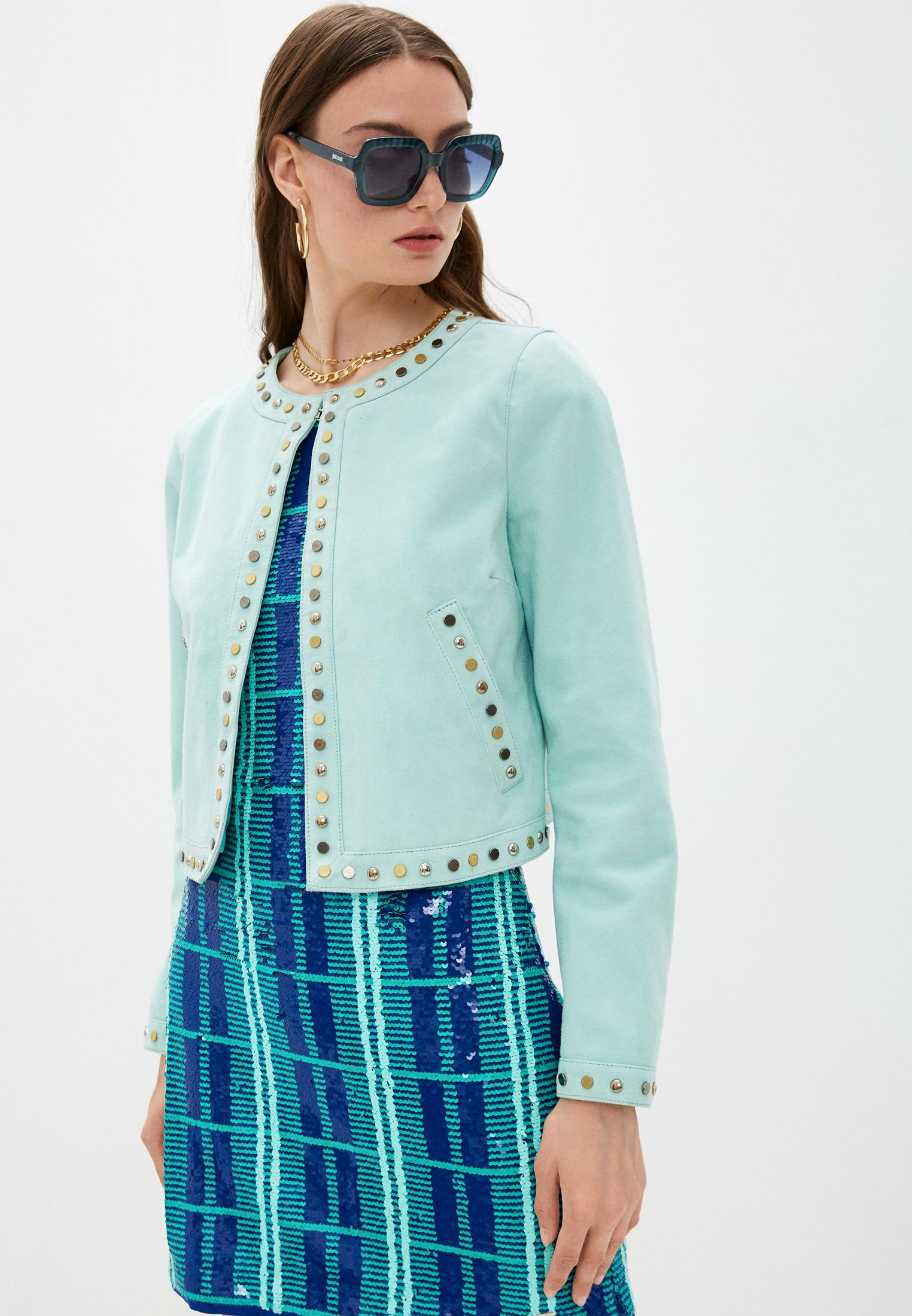 Кожаная куртка Just Cavalli (Джаст Кавалли) Куртка кожаная Just Cavalli