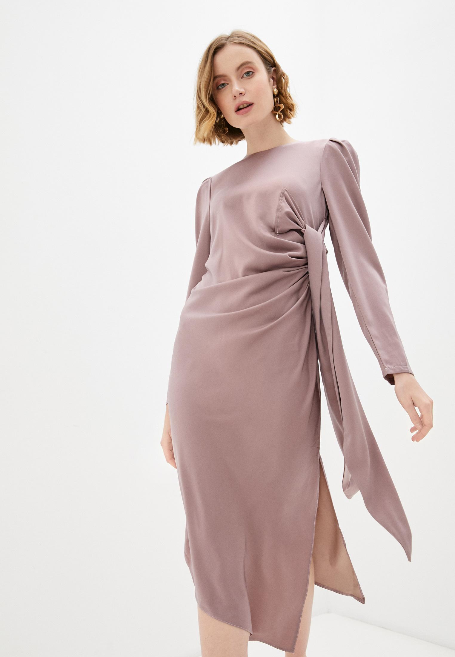 Вечернее / коктейльное платье Pink Orange PO21-031397-6