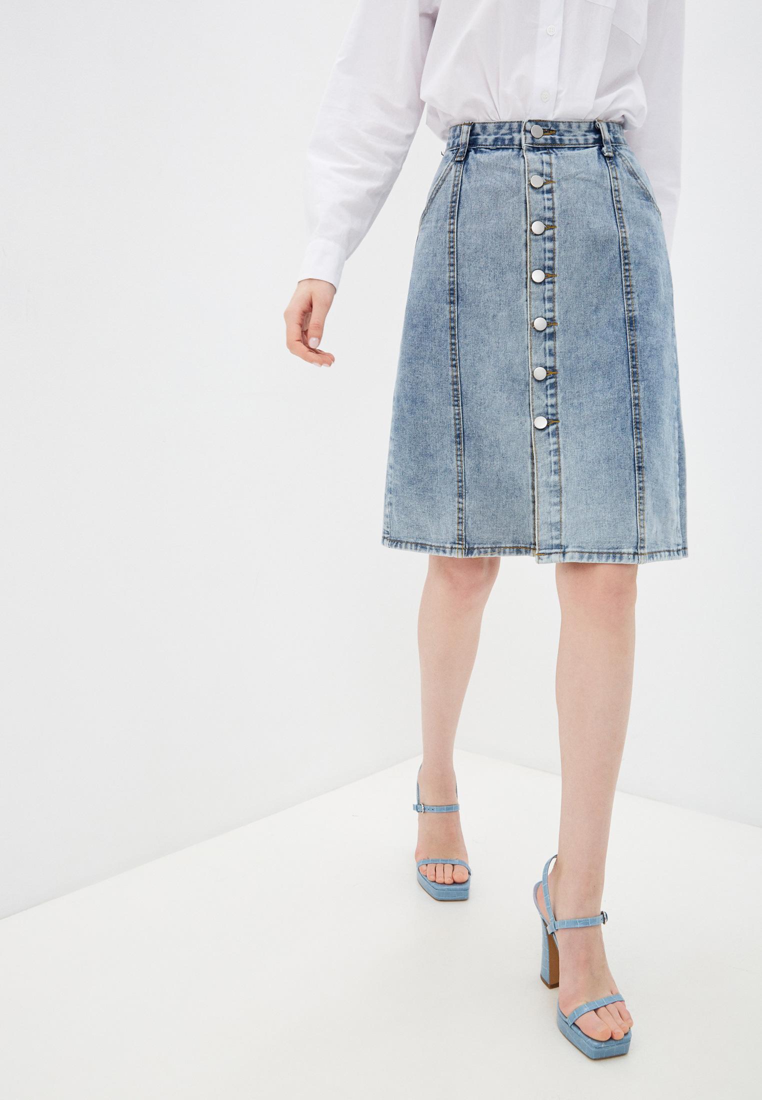 Джинсовая юбка Nerouge N913-5