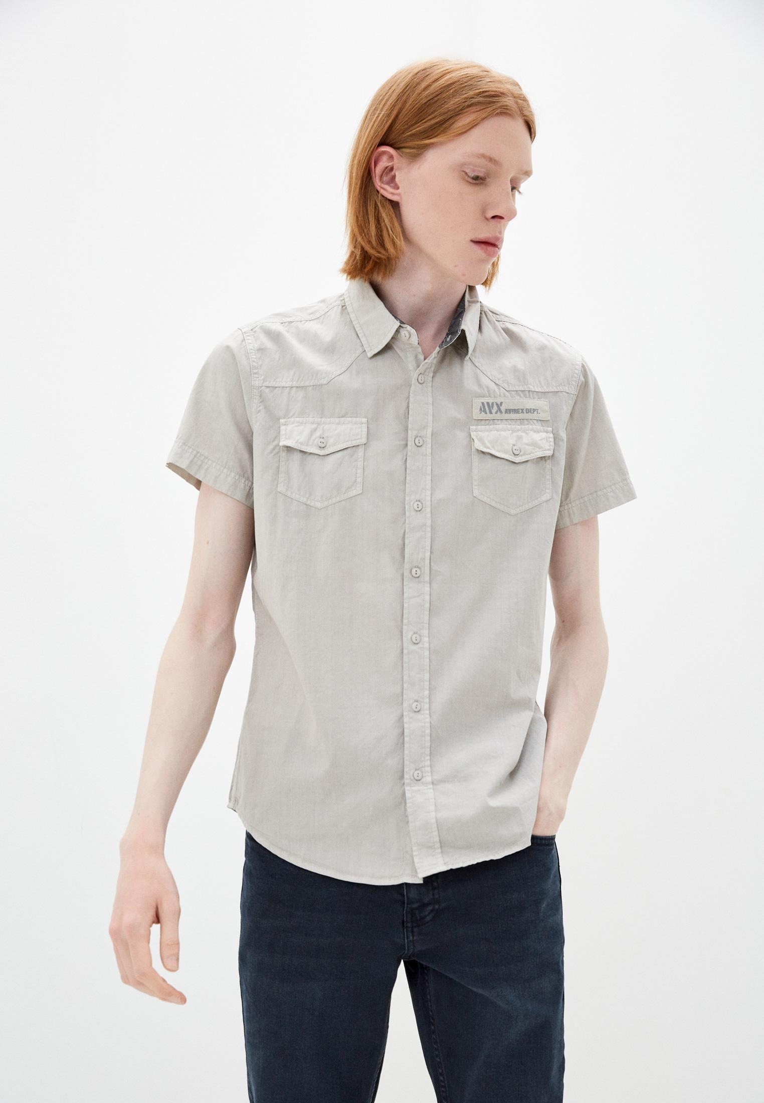 Рубашка с длинным рукавом Avirex Рубашка Avirex