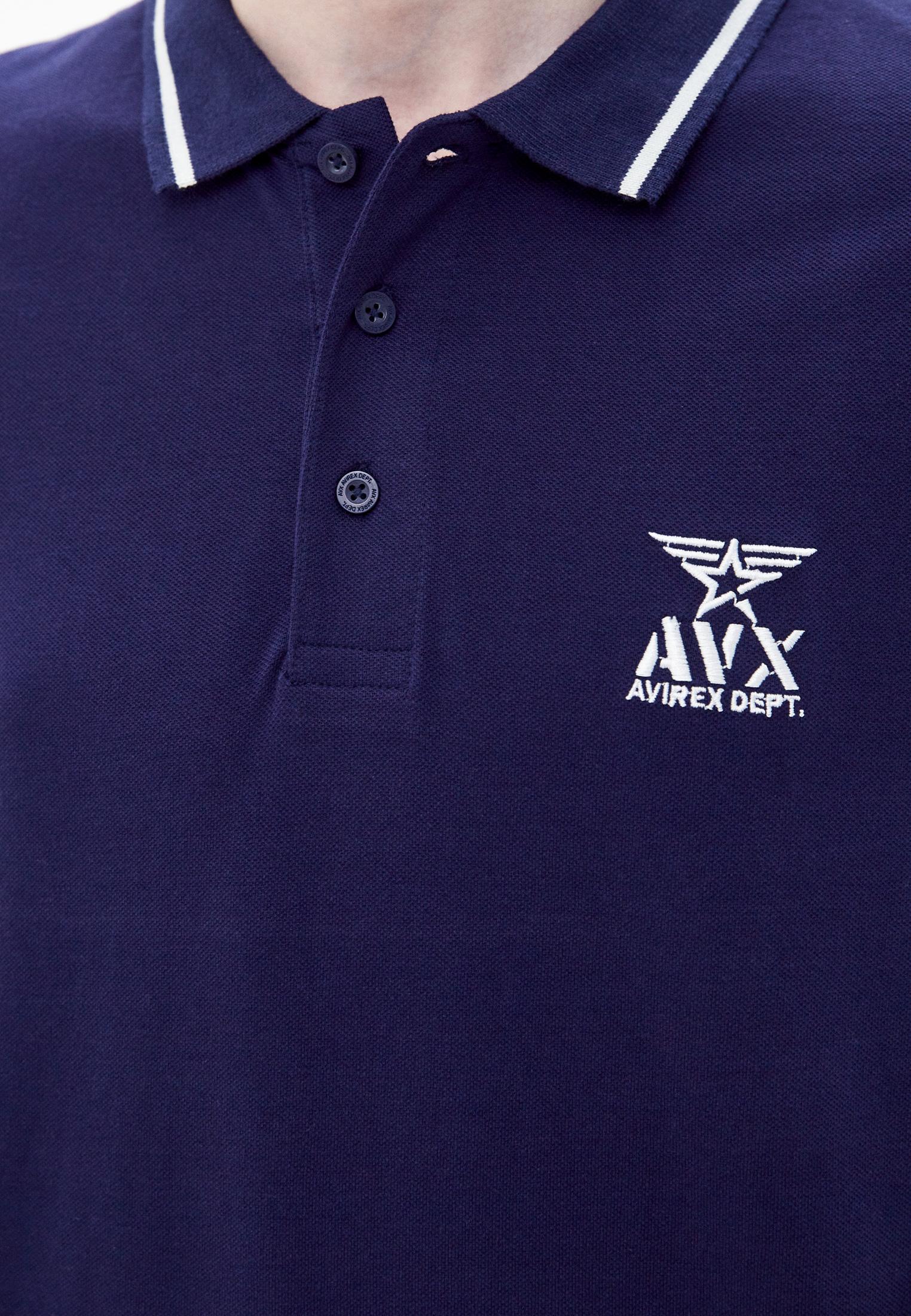 Мужские поло Avirex AX0060: изображение 3