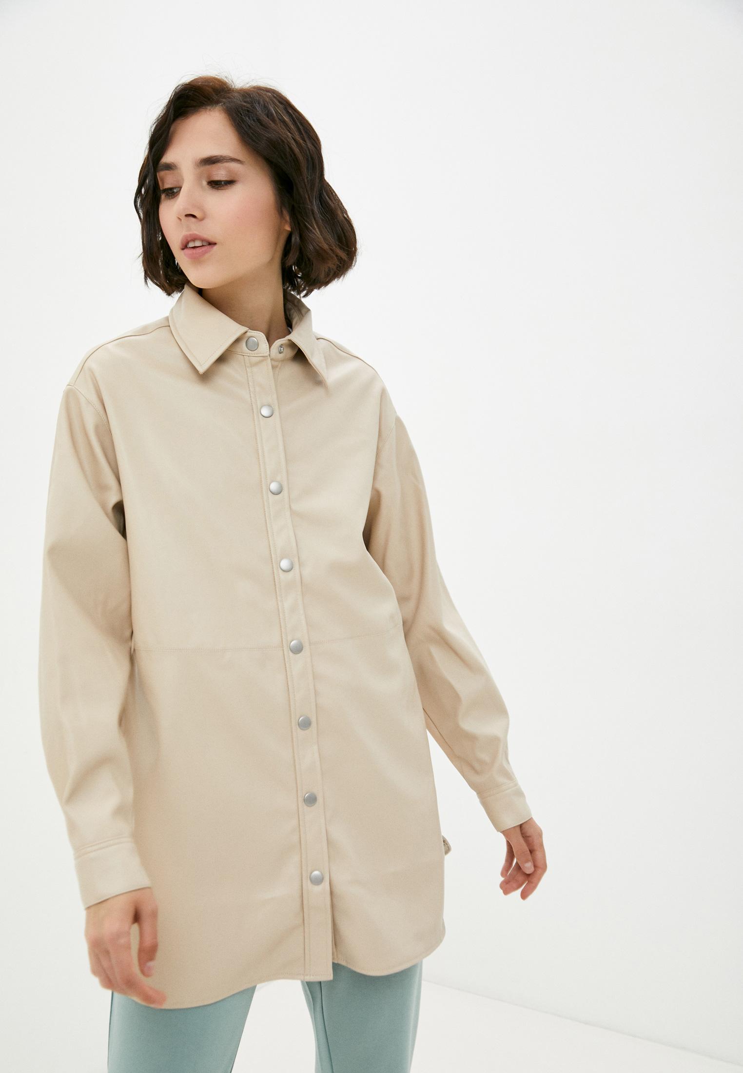 Женские рубашки с длинным рукавом b.young 20809408: изображение 1