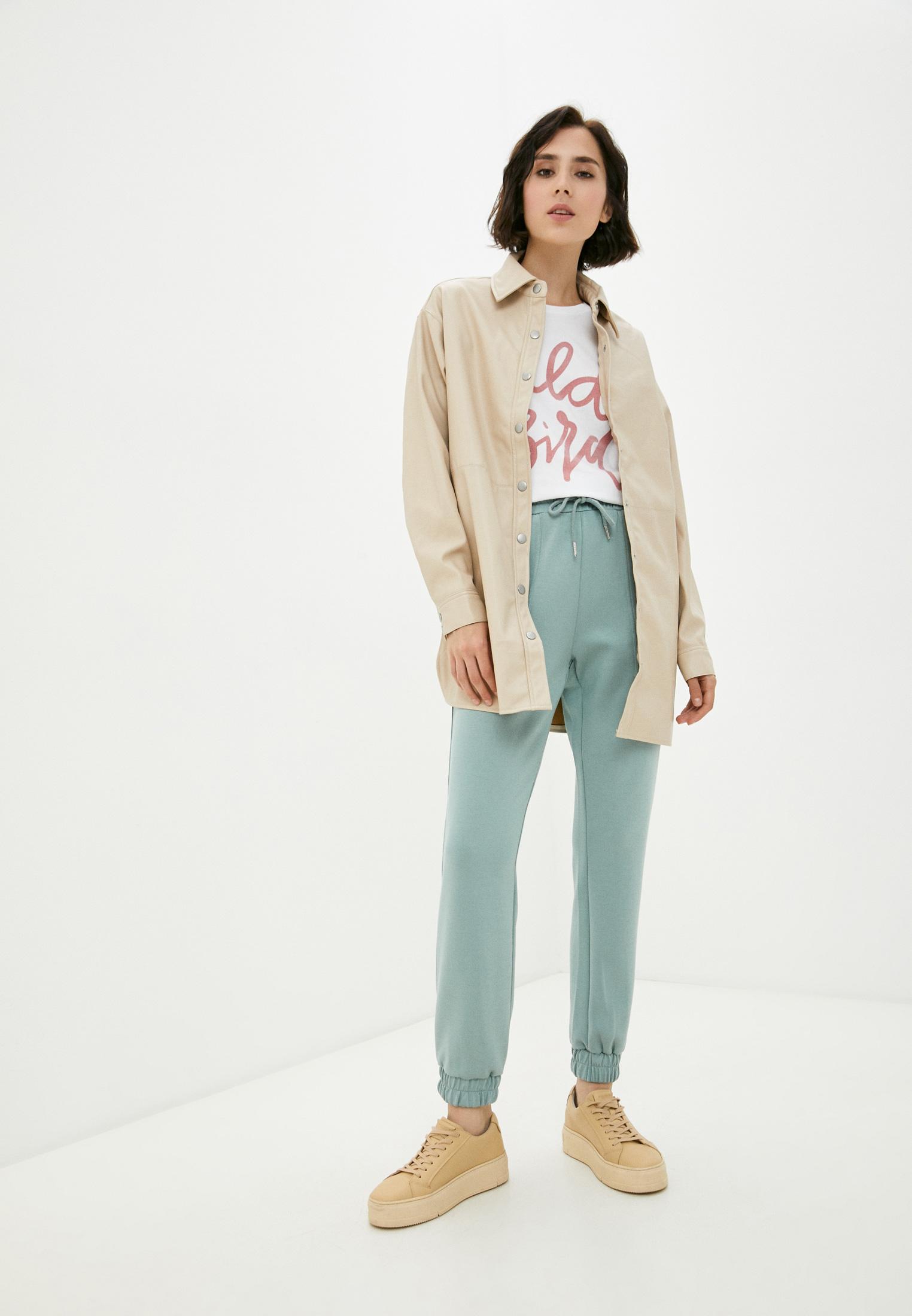 Женские рубашки с длинным рукавом b.young 20809408: изображение 2