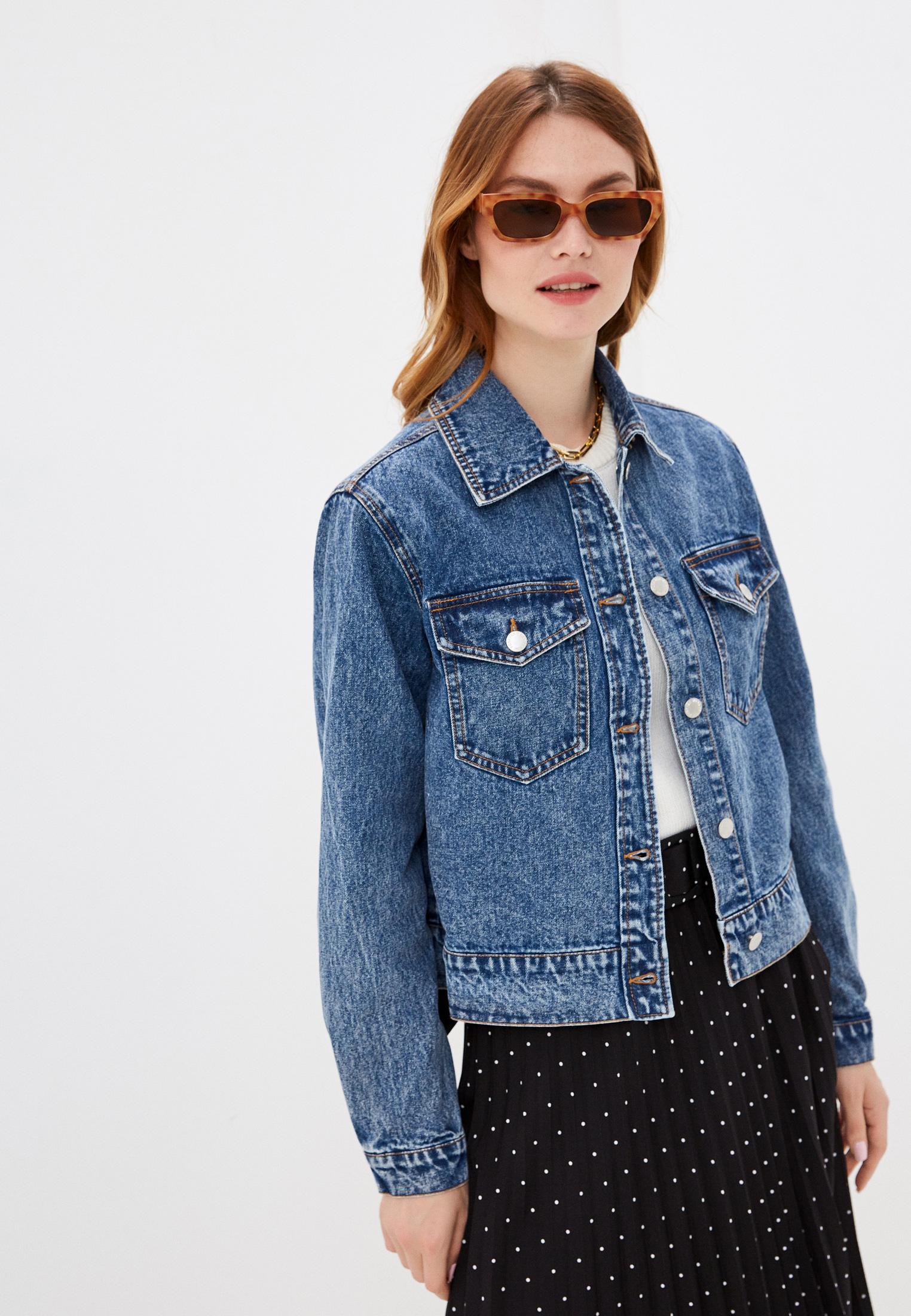 Джинсовая куртка b.young 20809423: изображение 1