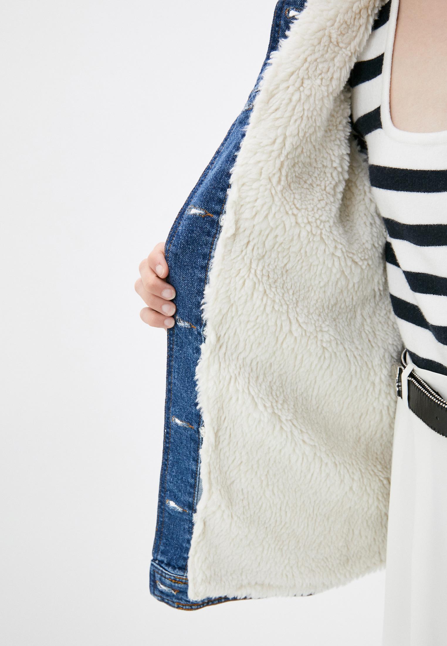 Джинсовая куртка Claudie Pierlot CFPBL00127: изображение 5
