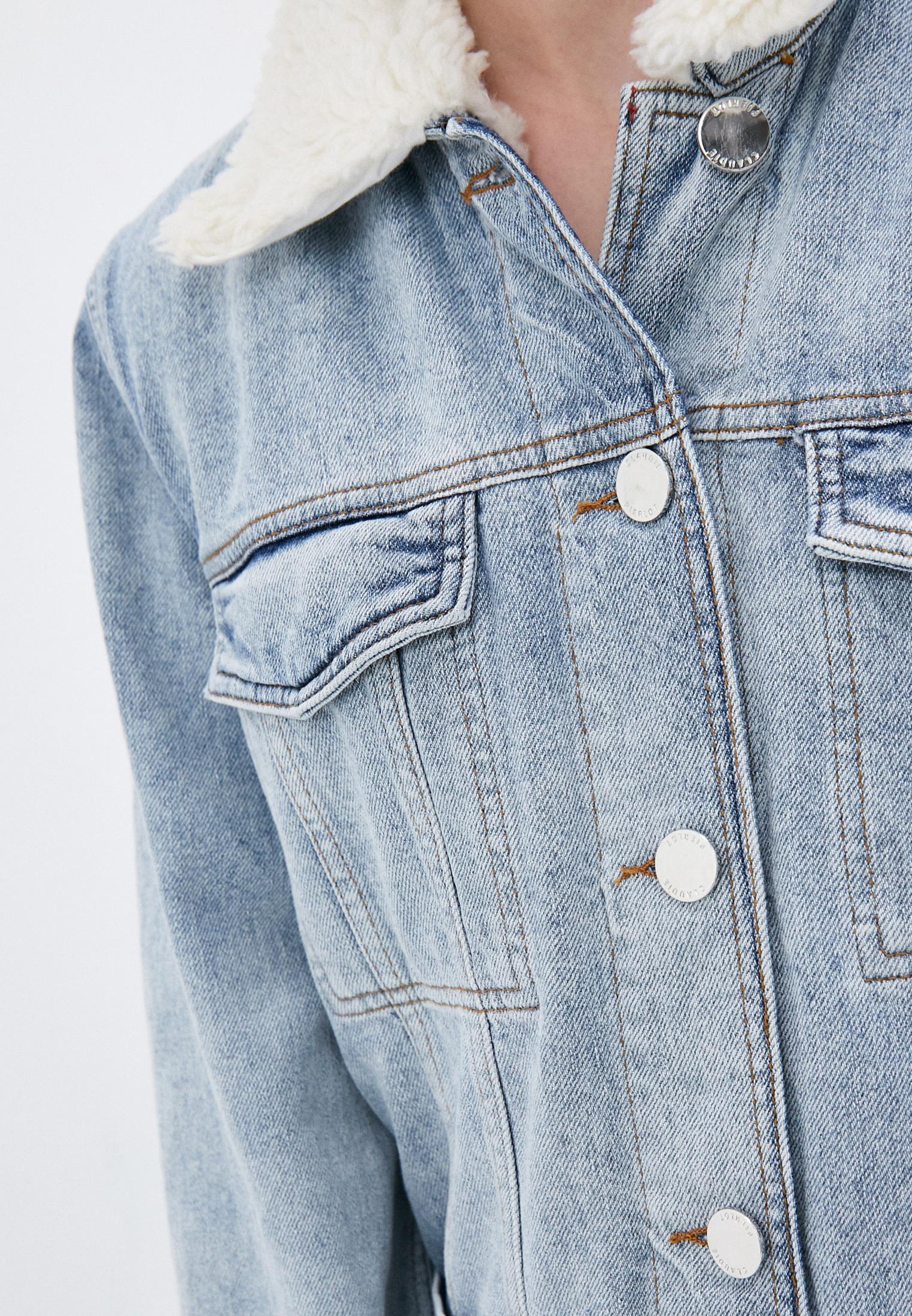Джинсовая куртка Claudie Pierlot CFPBL00127: изображение 6