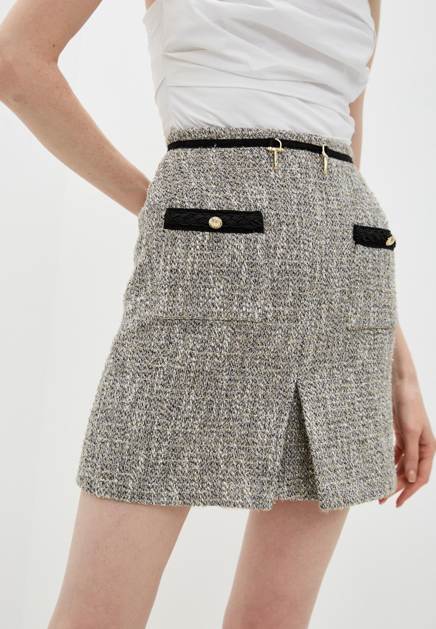 Широкая юбка Maje MFPJU00522