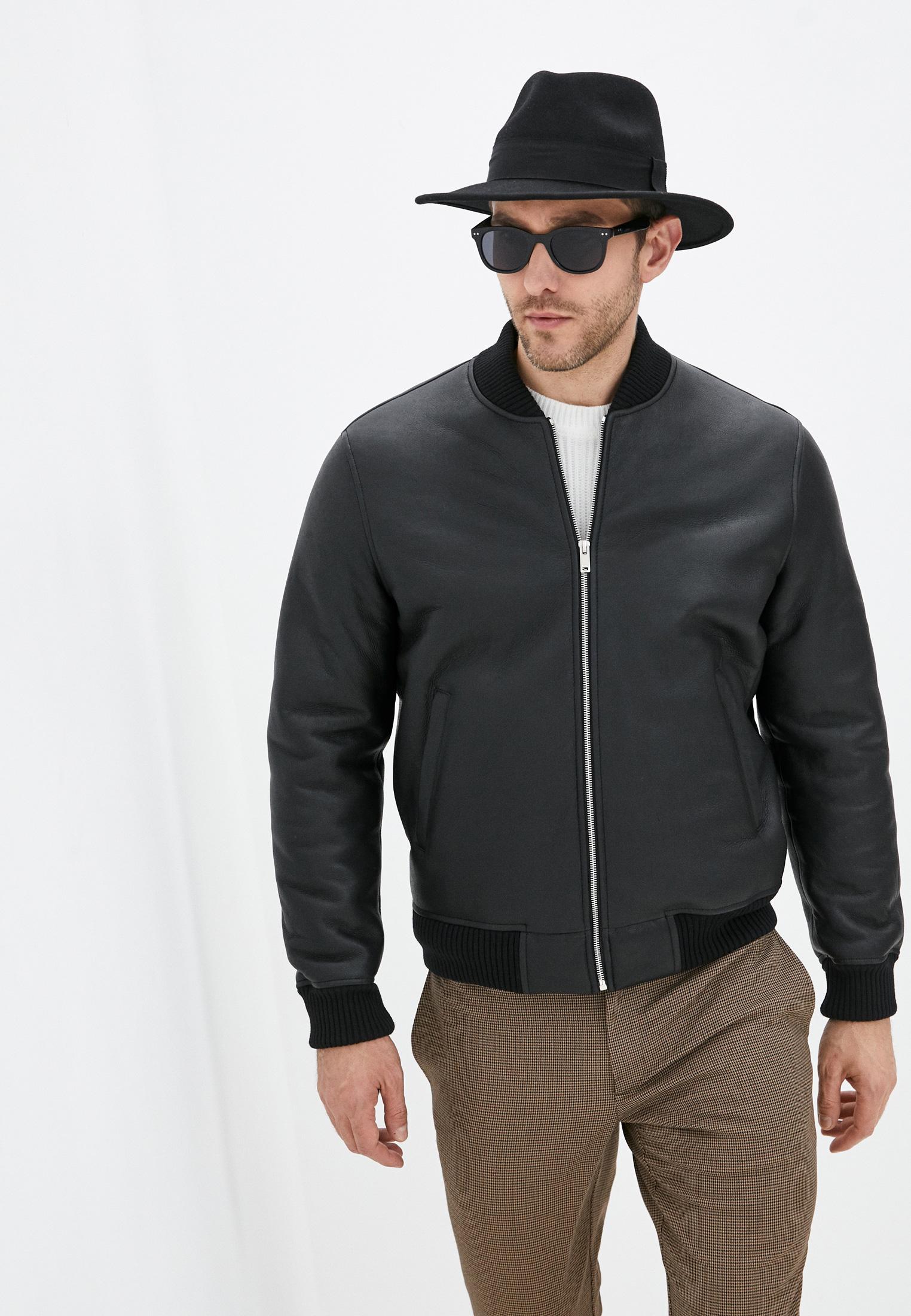 Кожаная куртка Sandro Куртка кожаная Sandro