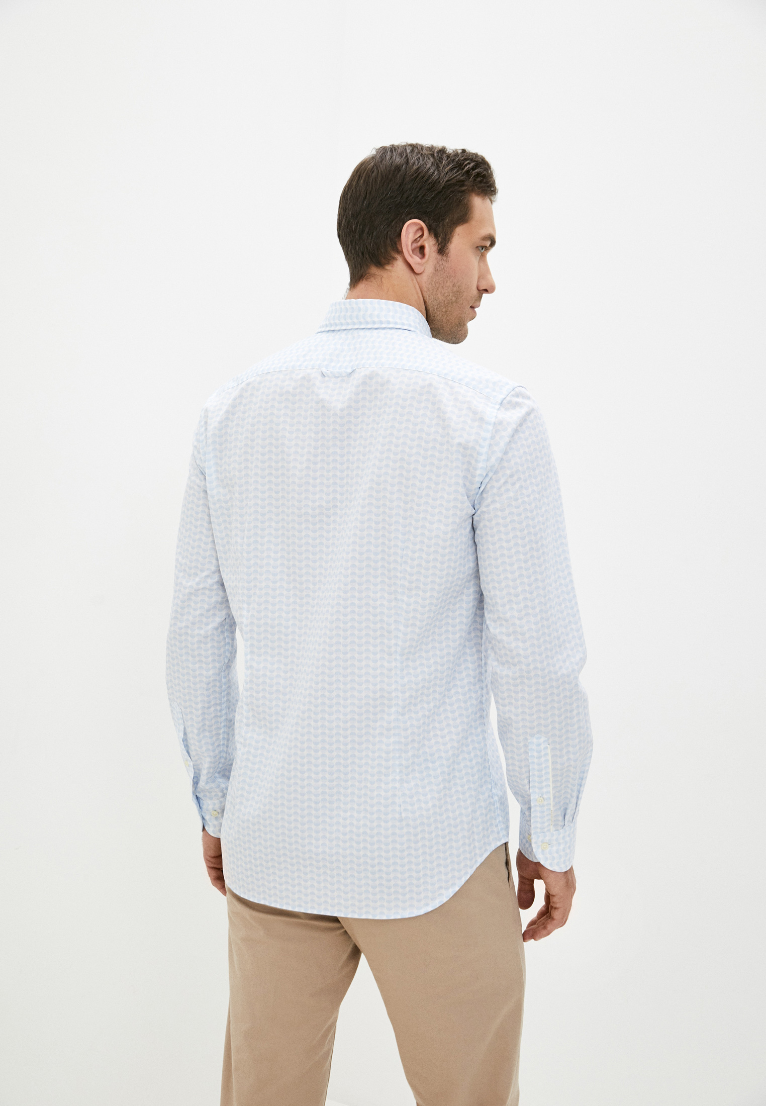 Рубашка с длинным рукавом BALDESSARINI (Балдессарини) 10007.3018: изображение 4