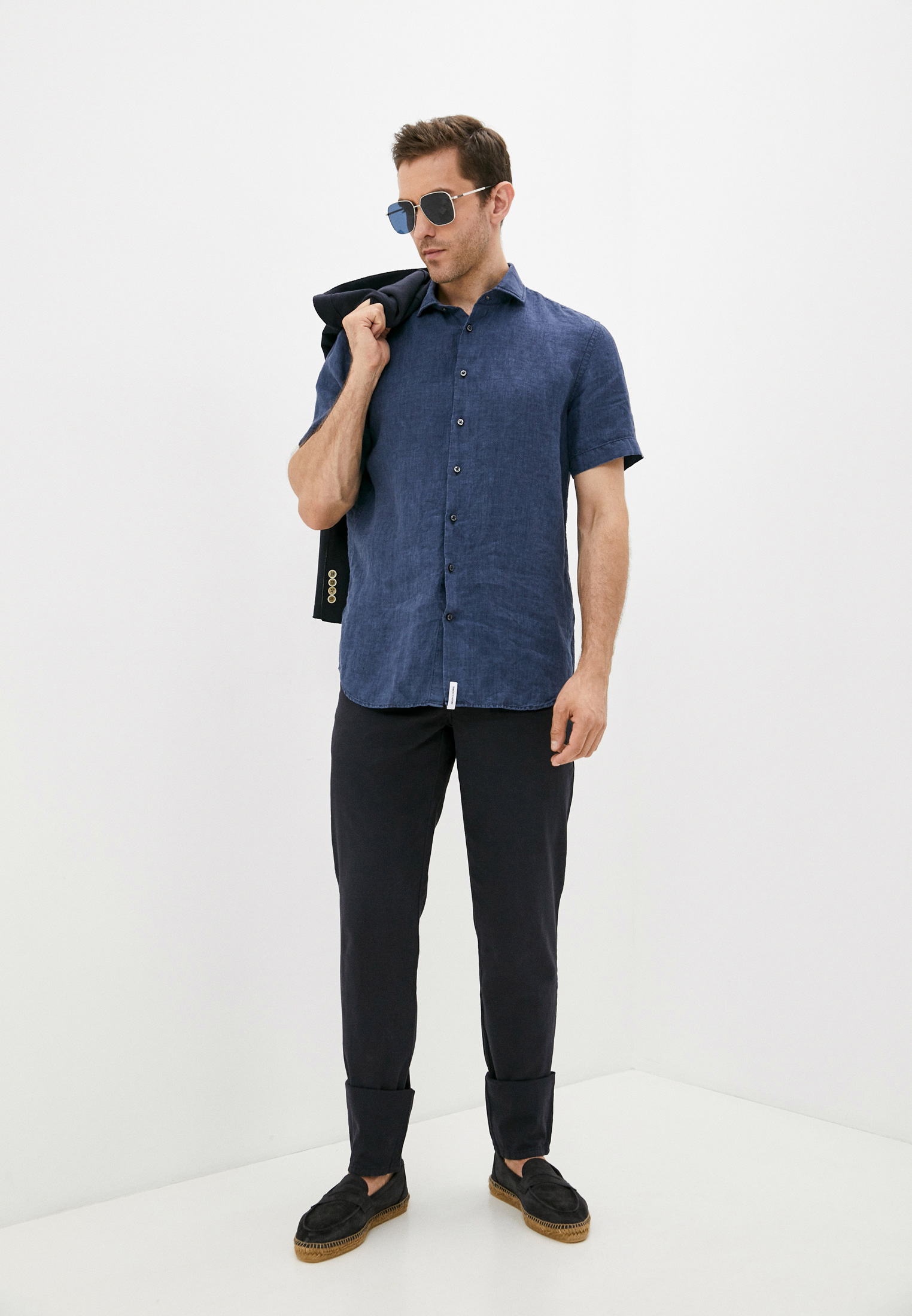 Рубашка с коротким рукавом BALDESSARINI (Балдессарини) 30000.303: изображение 3