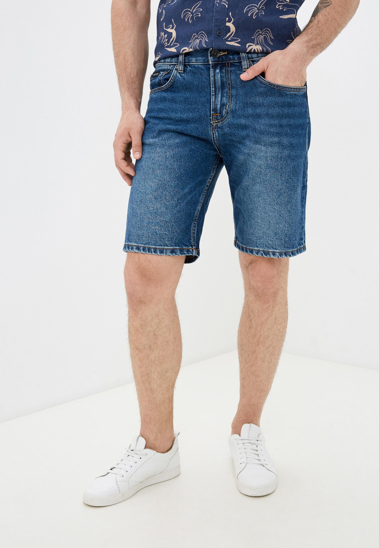 Мужские спортивные шорты Quiksilver (Квиксильвер) Шорты джинсовые Quiksilver