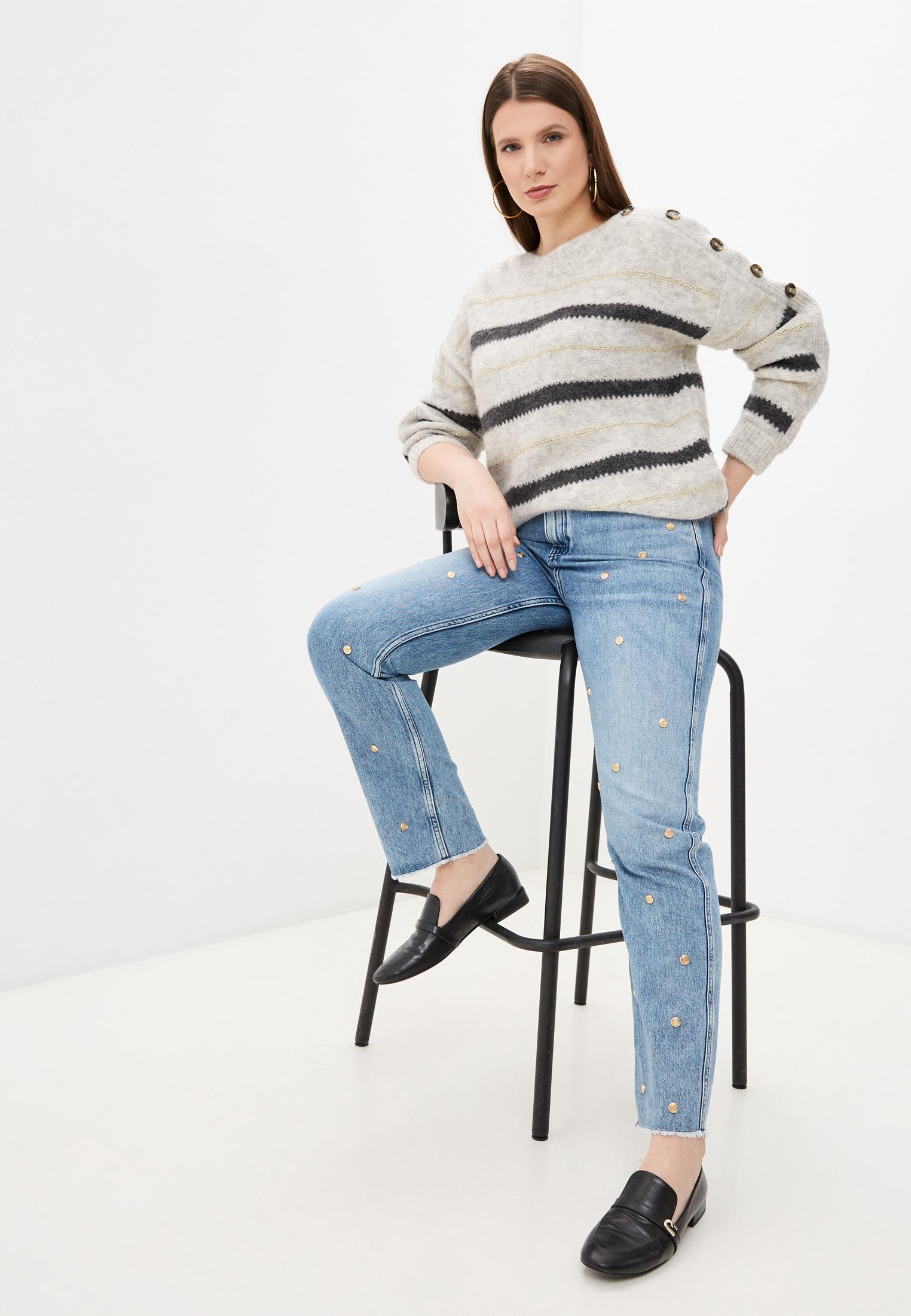 Прямые джинсы Claudie Pierlot CFPJE00127: изображение 3