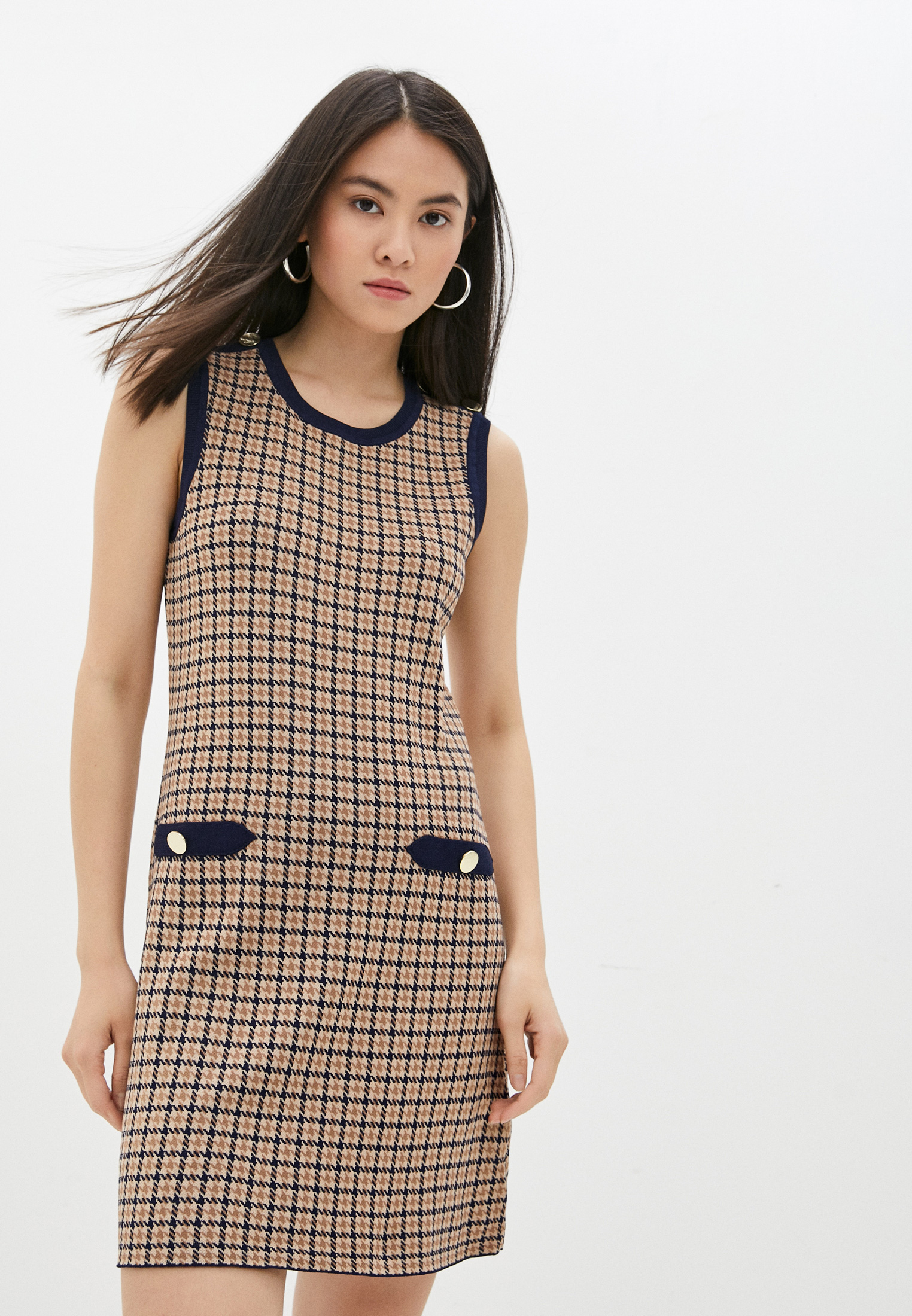 Вязаное платье Claudie Pierlot Платье Claudie Pierlot
