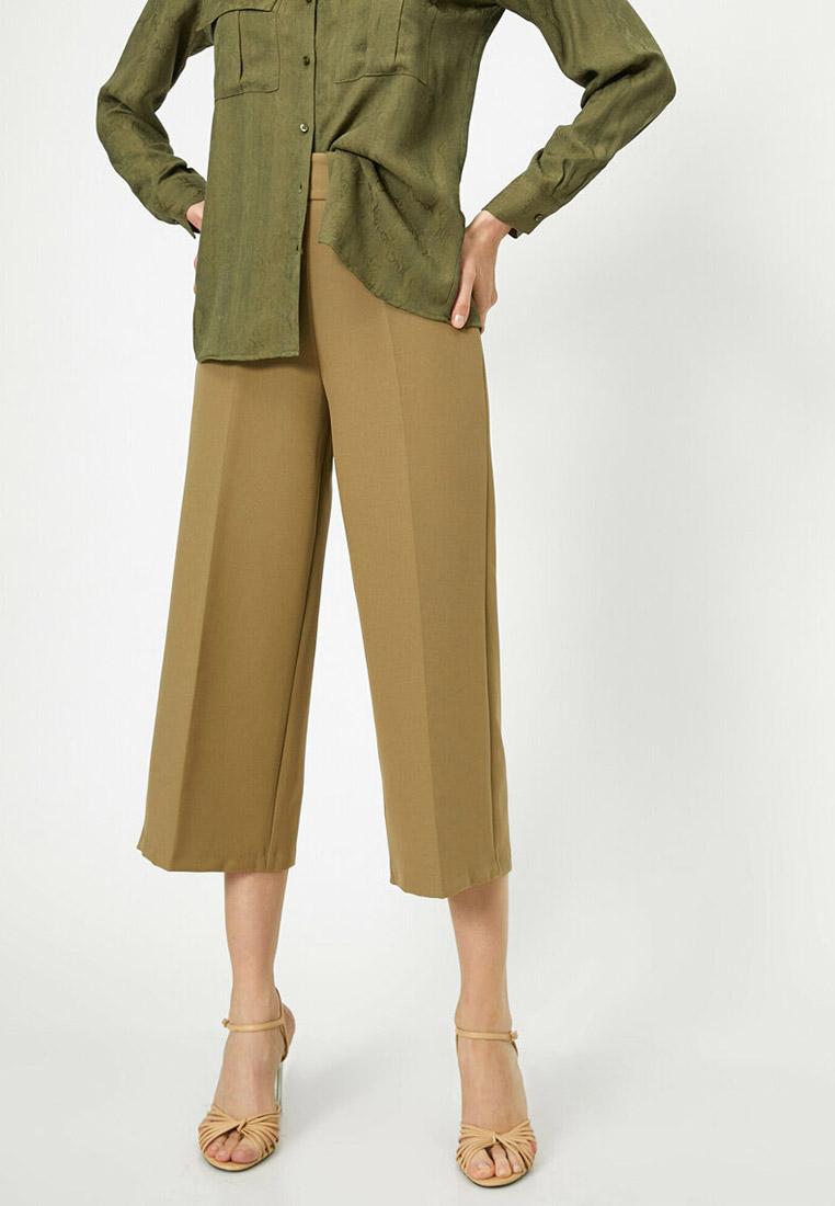 Женские широкие и расклешенные брюки Koton 0YAK42100UW