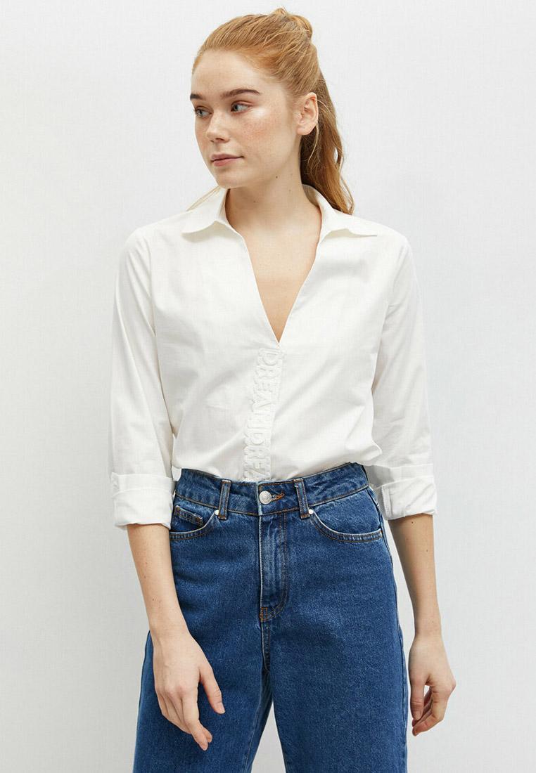 Женские рубашки с длинным рукавом Koton 0YAK66976OW