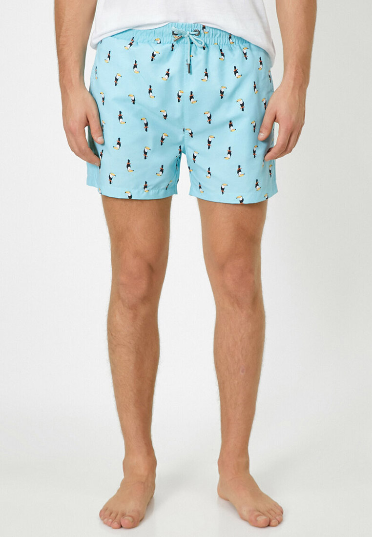 Мужские шорты для плавания Koton 0YAM49053GW