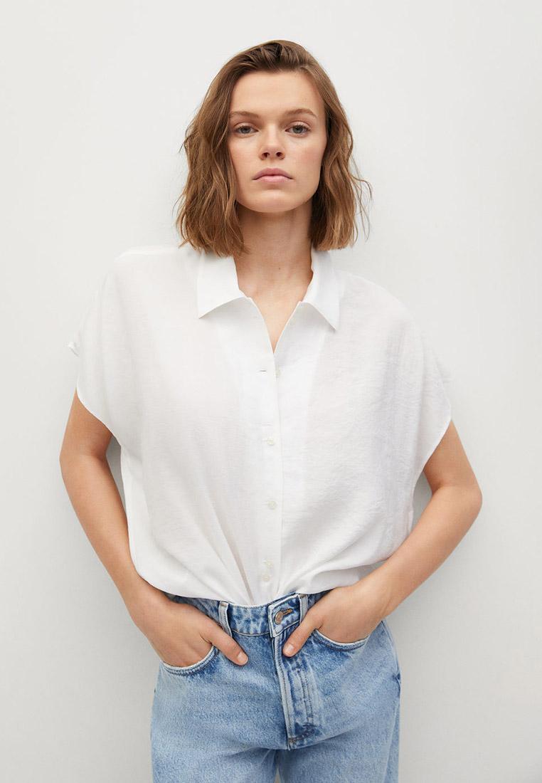Рубашка с коротким рукавом Mango (Манго) Рубашка Mango