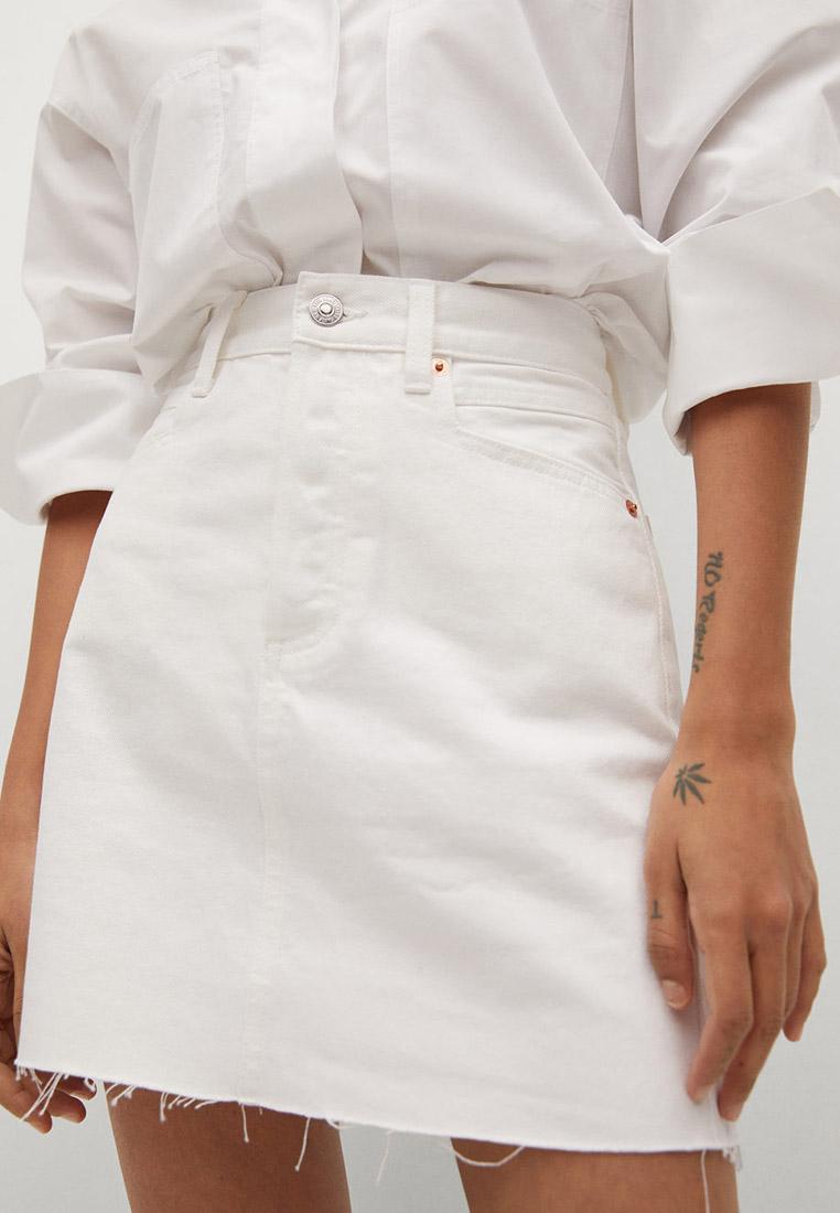 Джинсовая юбка Mango (Манго) 87066304
