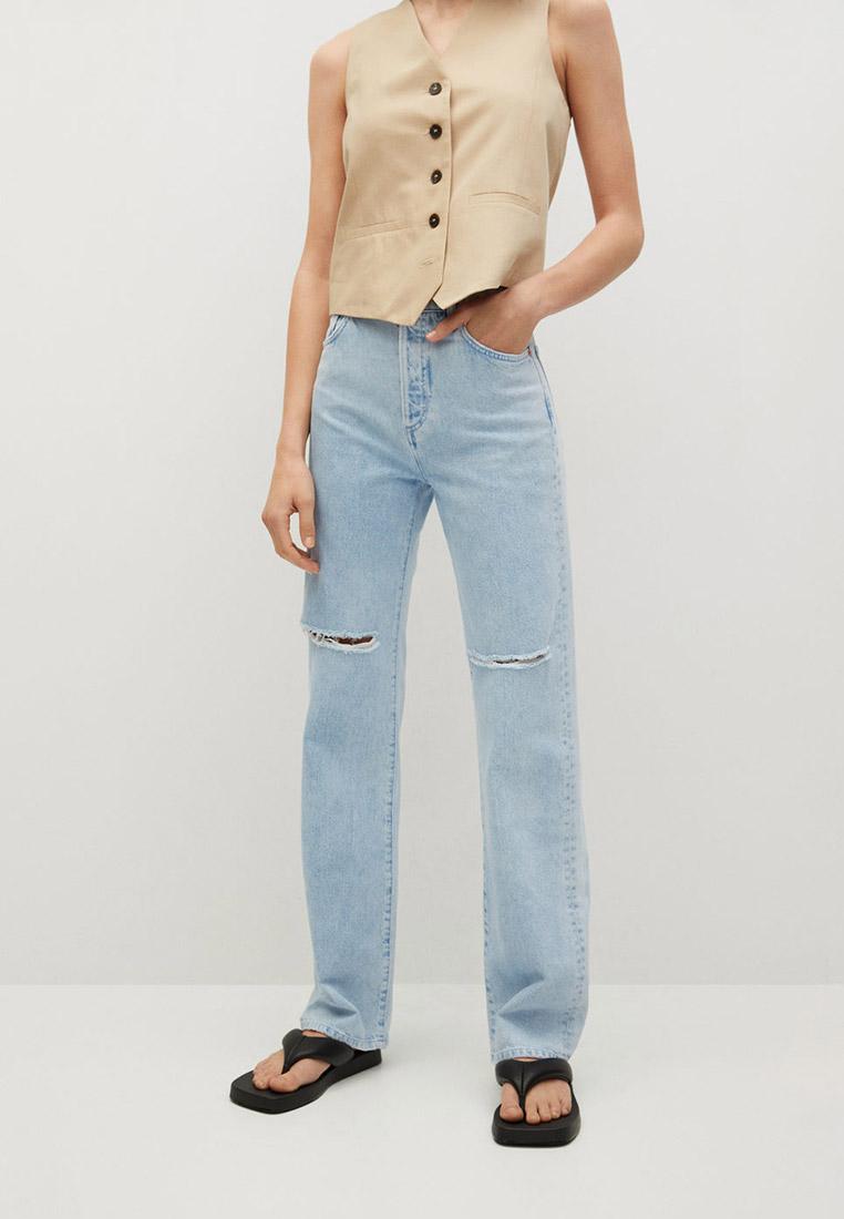 Прямые джинсы Mango (Манго) 87067160