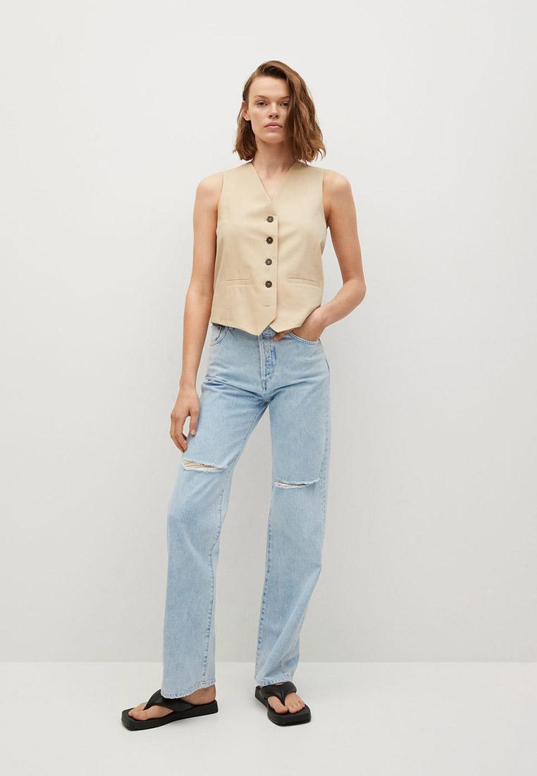 Прямые джинсы Mango (Манго) 87067160: изображение 2